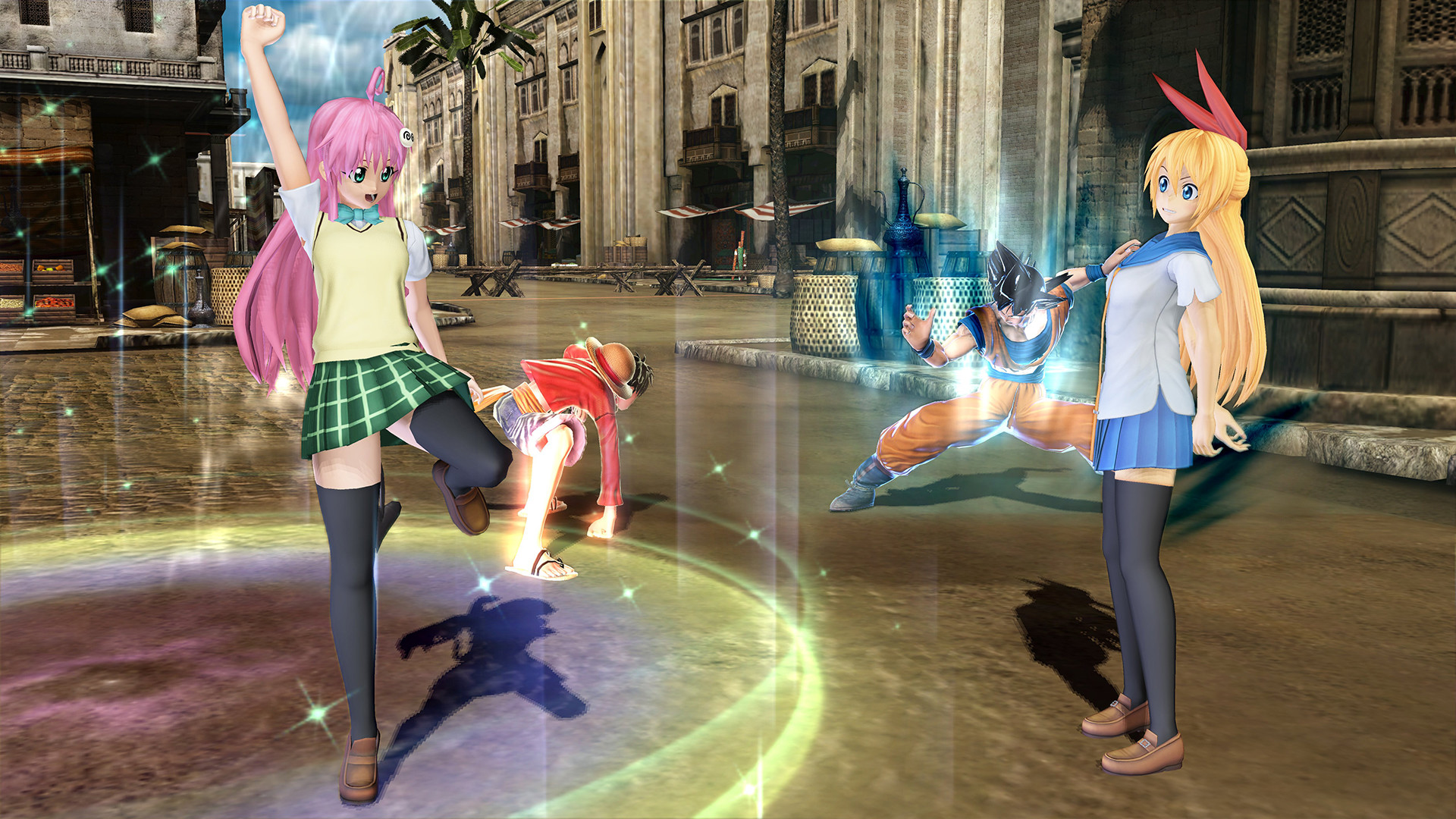 1920x1080 J Stars Victory VS Plus Gameplay Screenshot Lala Satalin Deviluke of To  Love Ru Luffy Goku Chitoge ...