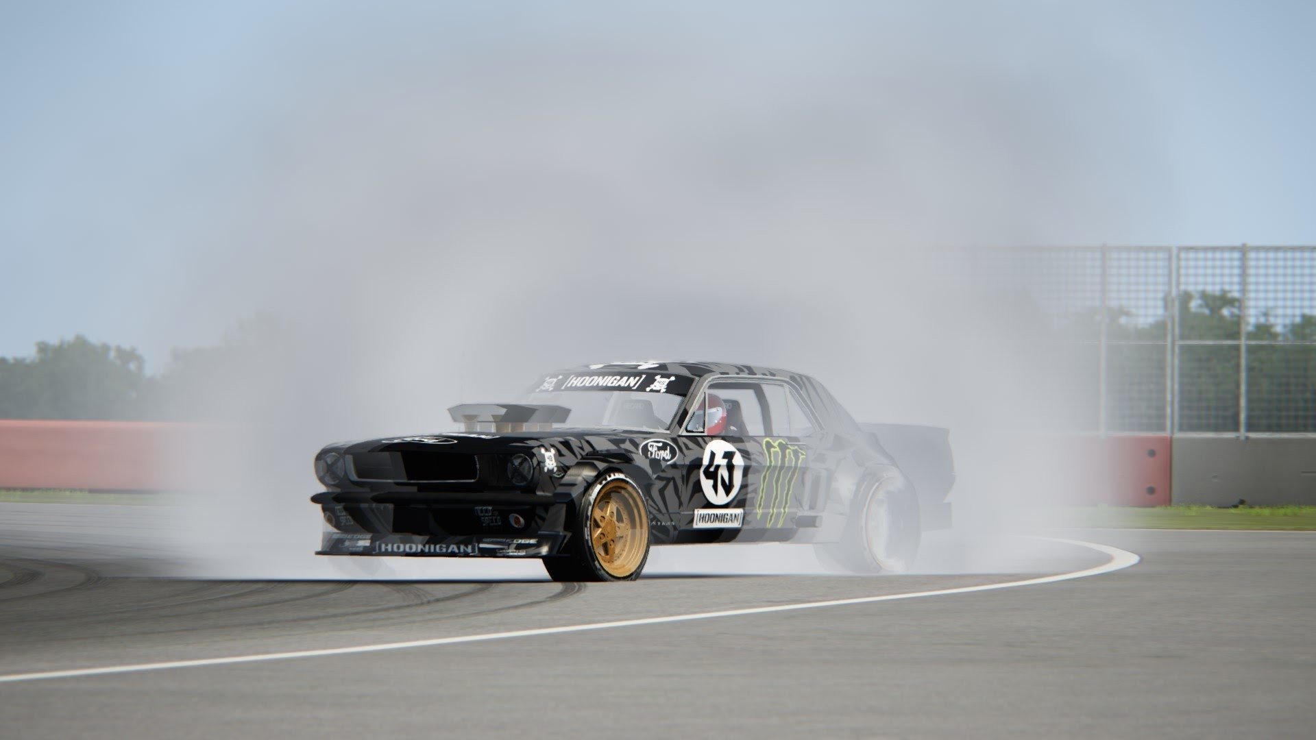 1920x1080 Assetto Corsa Silverstone International Ken Block Ford Hoonicorn Mustang  Drift 1080P 50 FPS