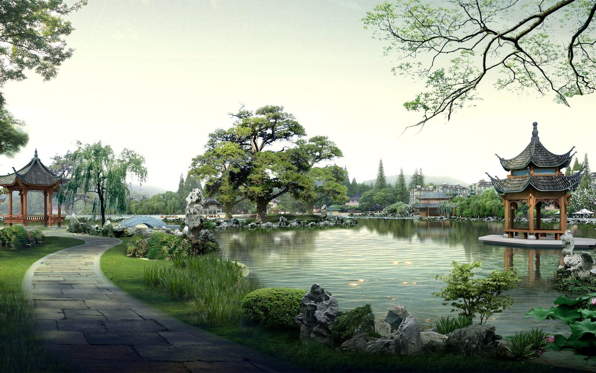 1920x1200 Samurai Images Japanese Landscape HD Wallpaper And Background Photos