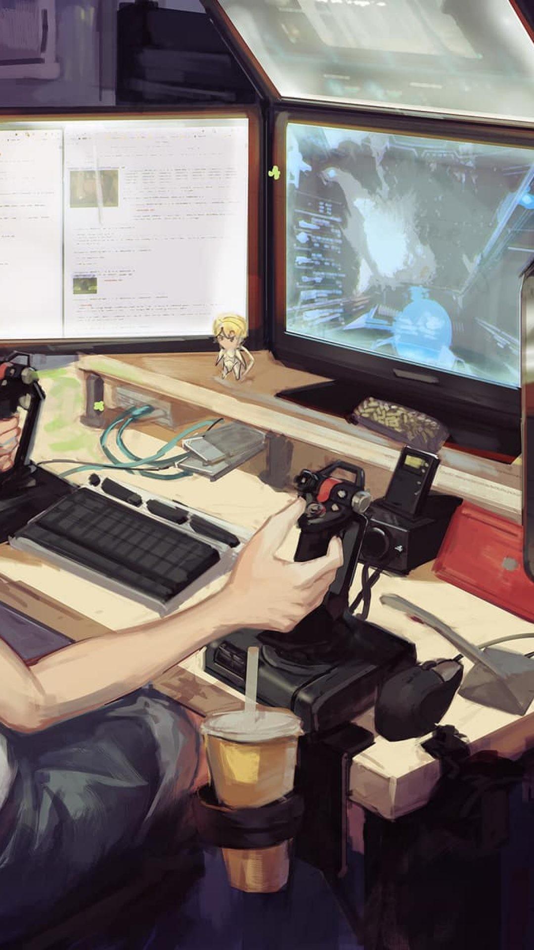Youtube Channel Art Gaming Anime Gamer Wallpaper ...