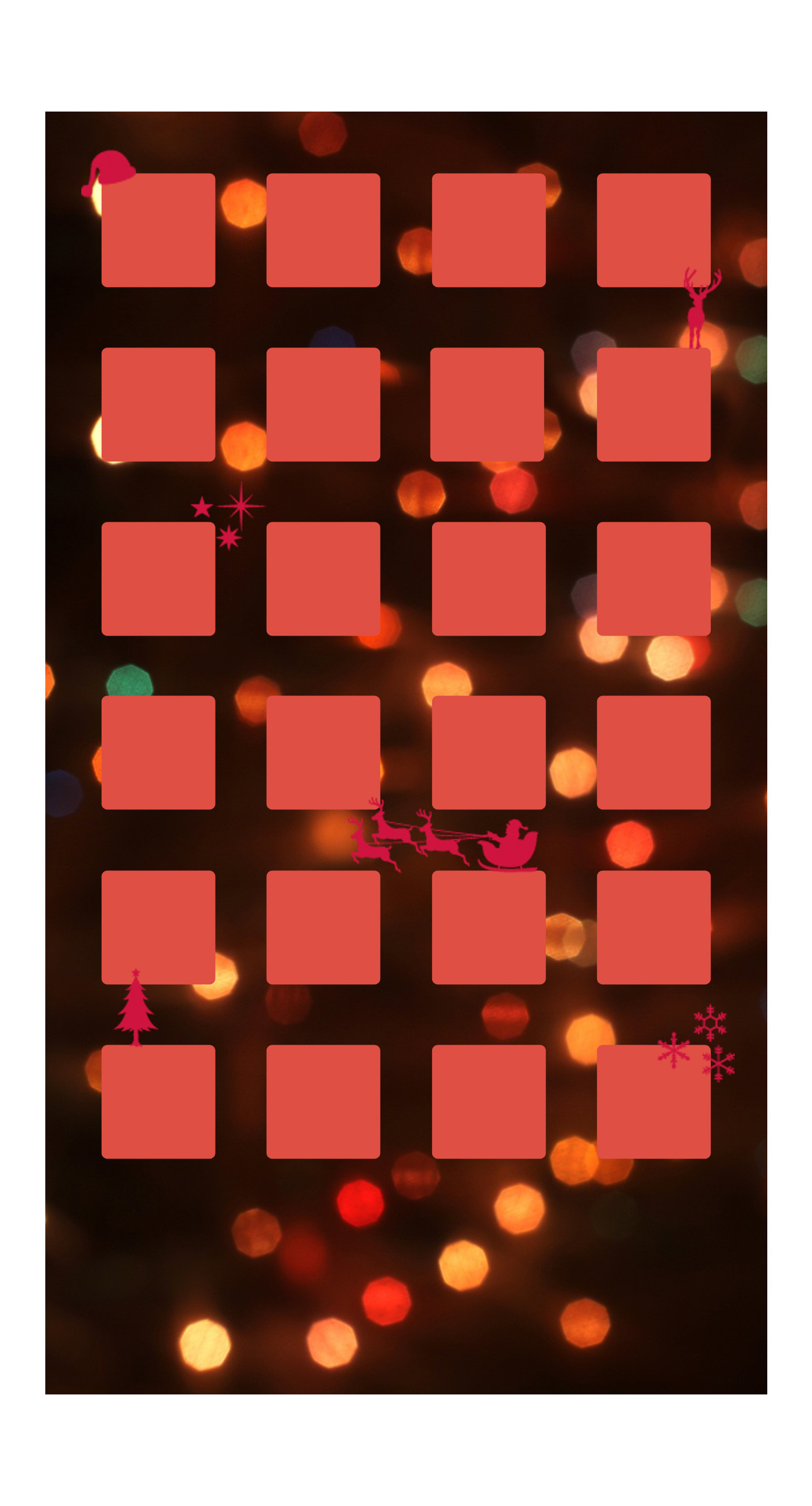 1398x2592 Shelf Christmas red light women iPhone6s Plus / iPhone6 Plus Wallpaper