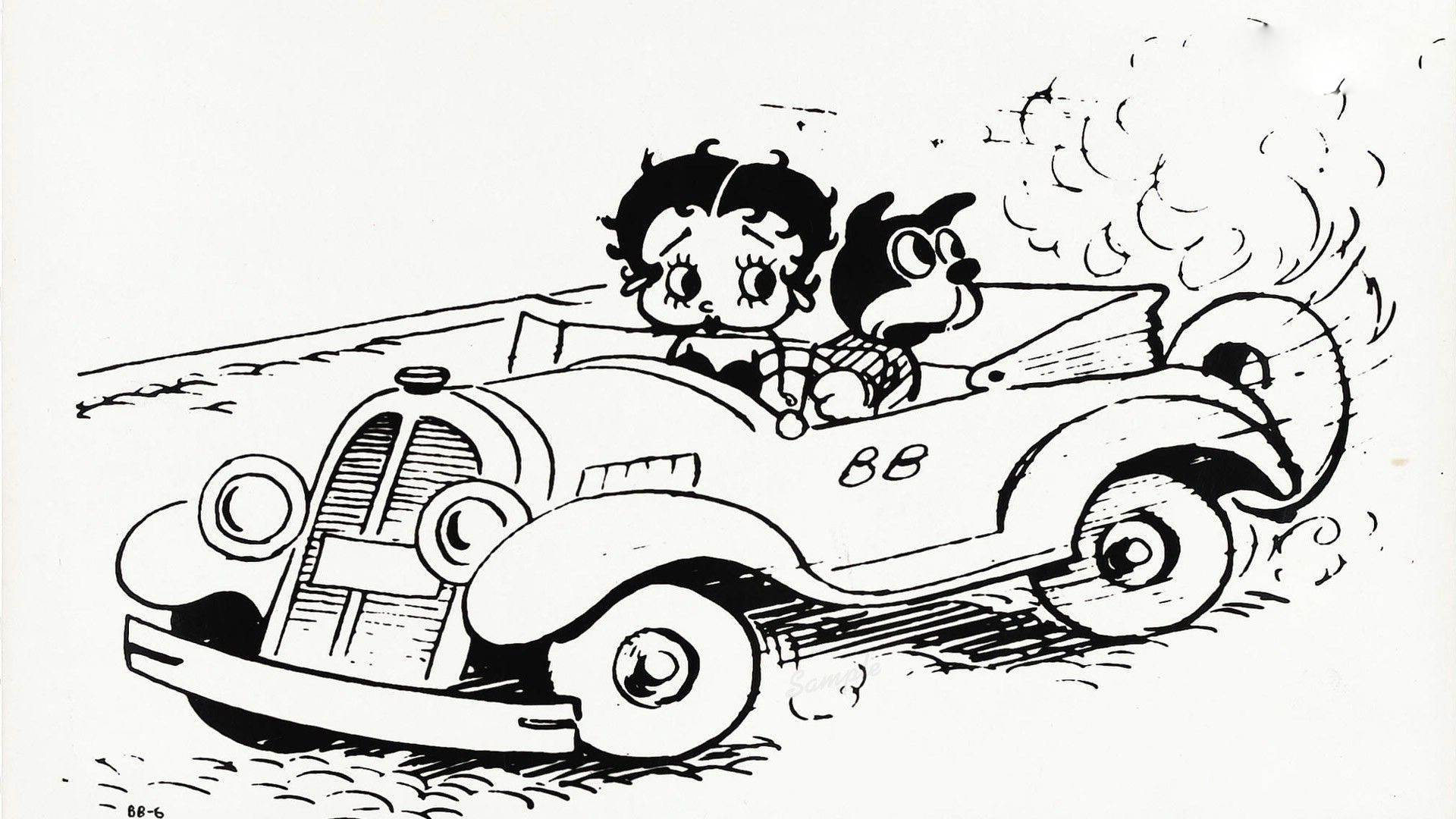 Betty Boop Wallpaper 41 Images