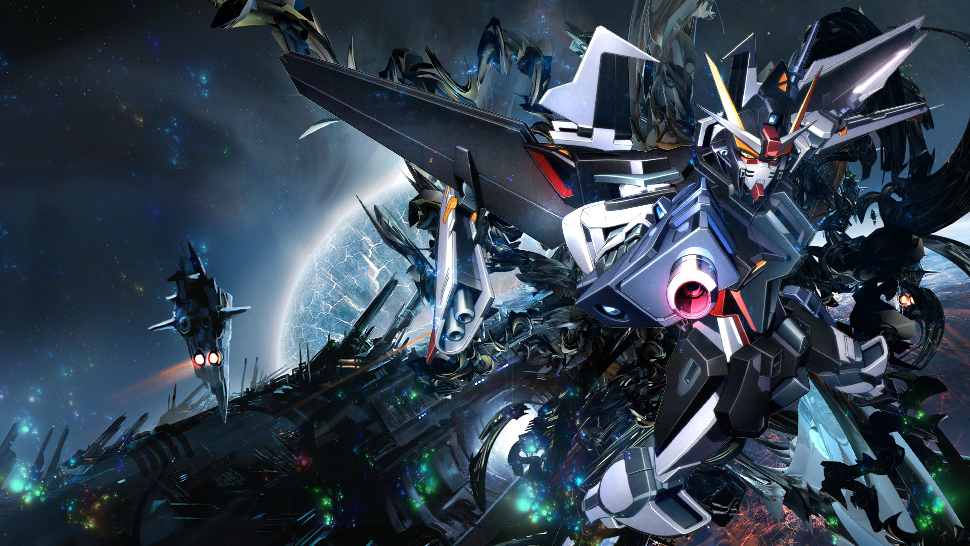 Fantasy Wallpaper 1920x1080 >> Gundam Wing Deathscythe Wallpaper (74+ images)