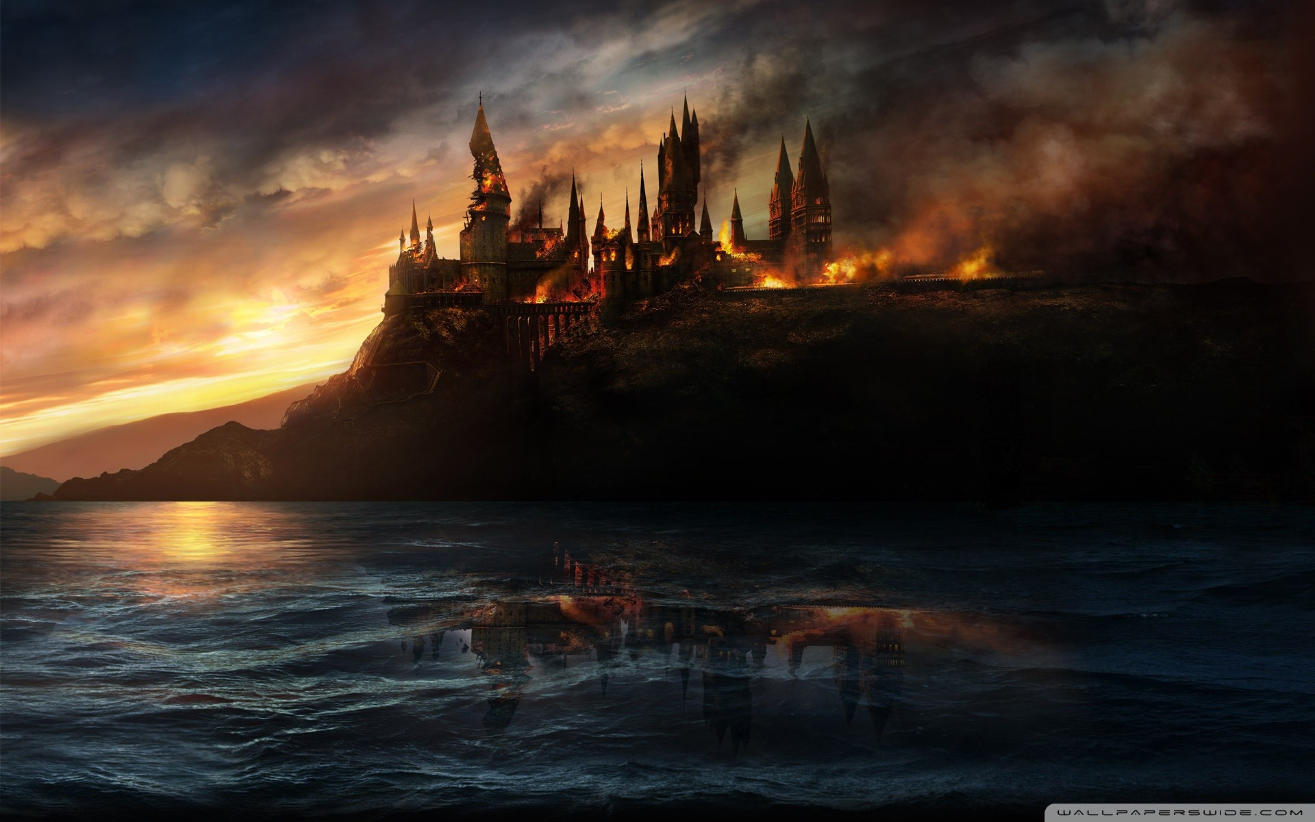 1920x1200 Harry Potter And The Deathly Hallows HD Wide Wallpaper for Widescreen