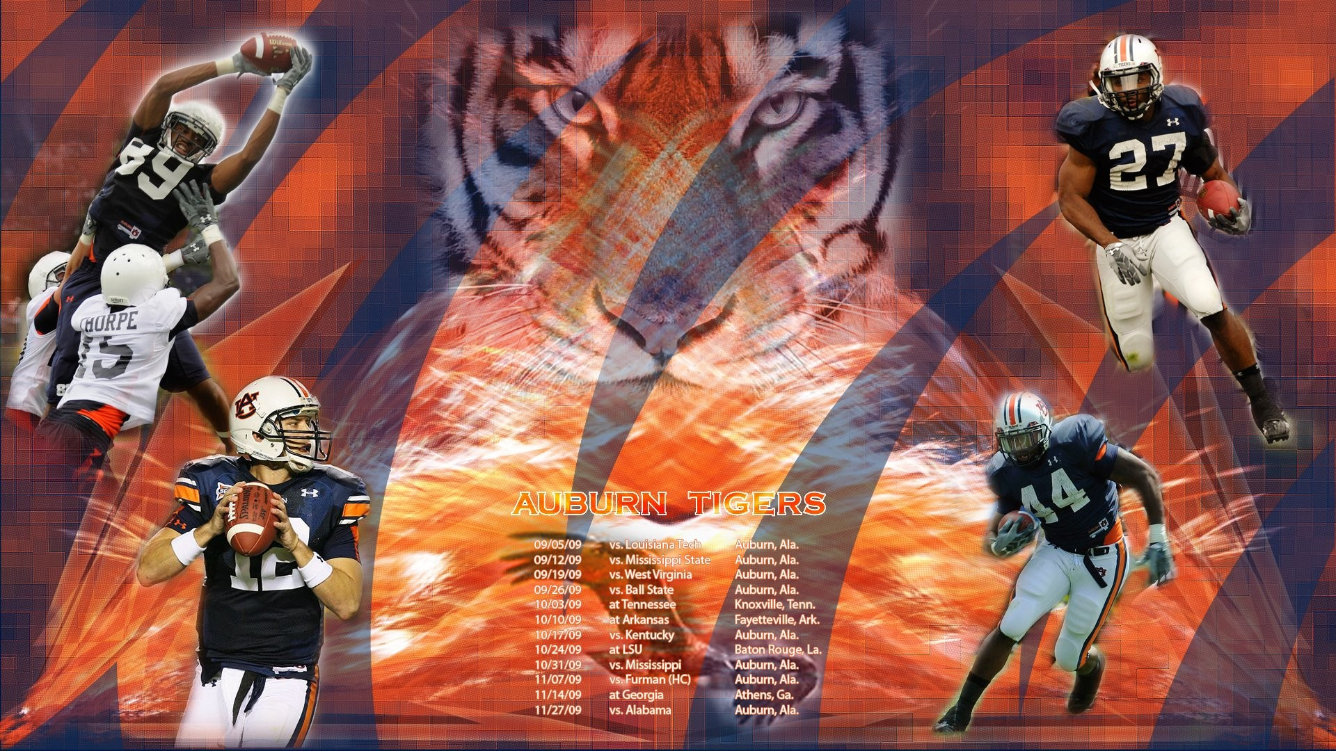(69+ images) Screensavers Wallpaper Football and Auburn