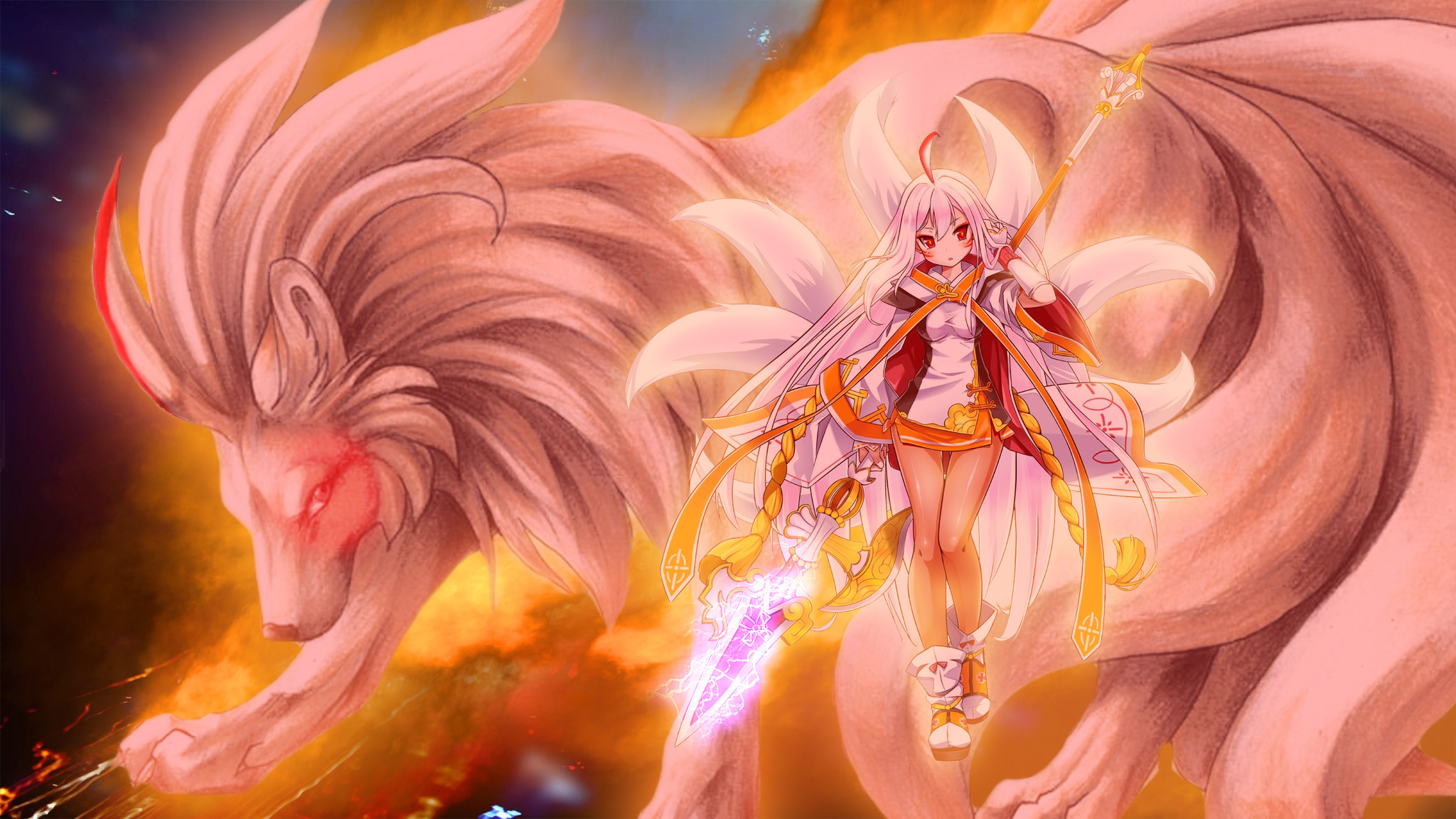 2048x1152 Pokemon Nine Tails Furry Comic Images