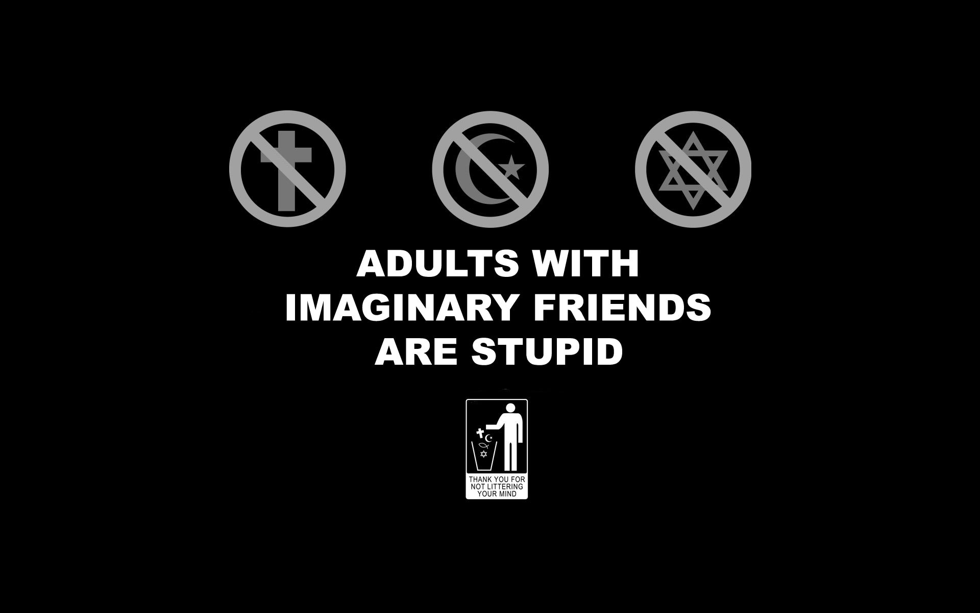 1920x1200 Imaginary Friends [] ...