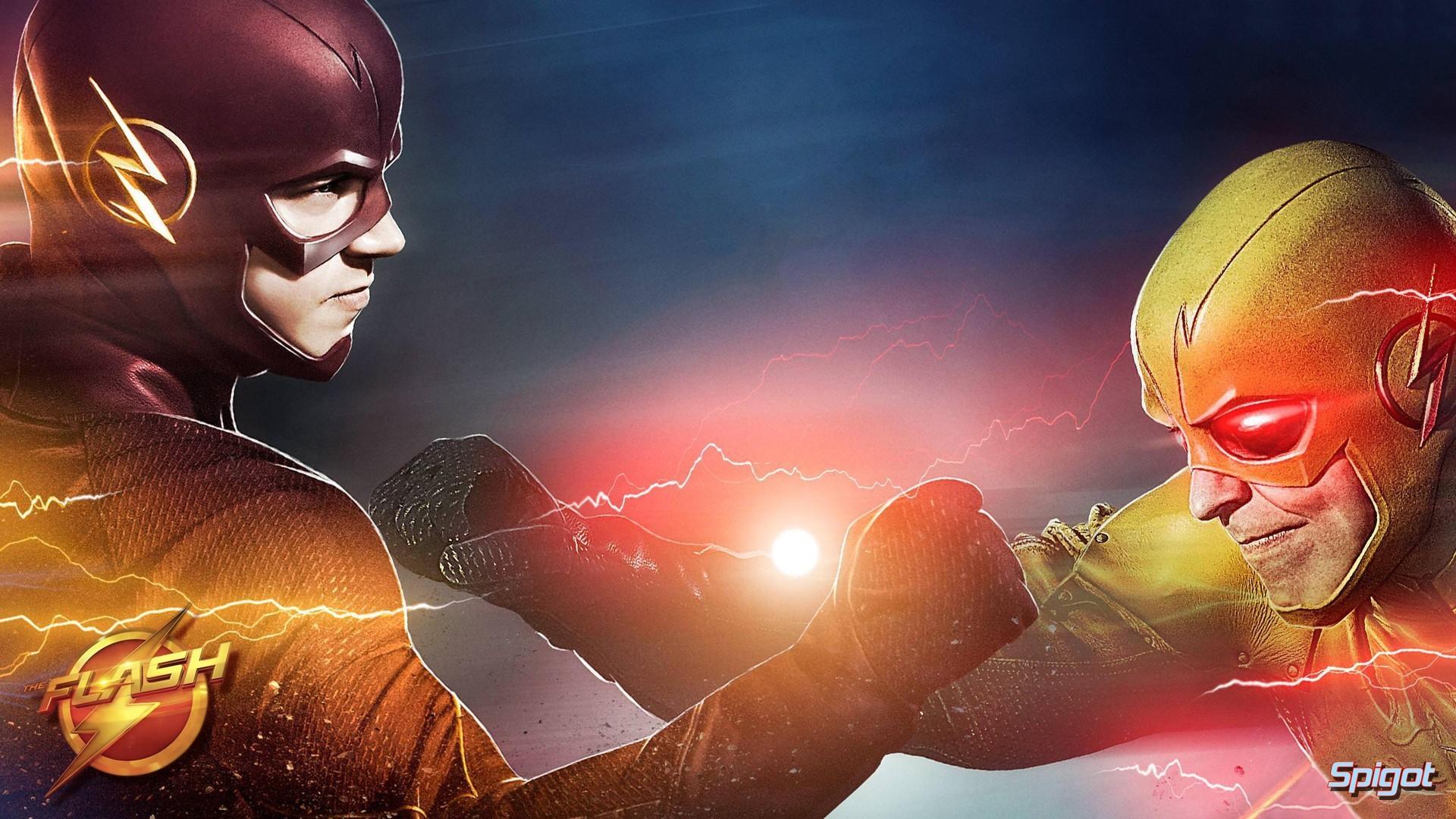 Flash vs Reverse Flash Wallpaper (81+ images)