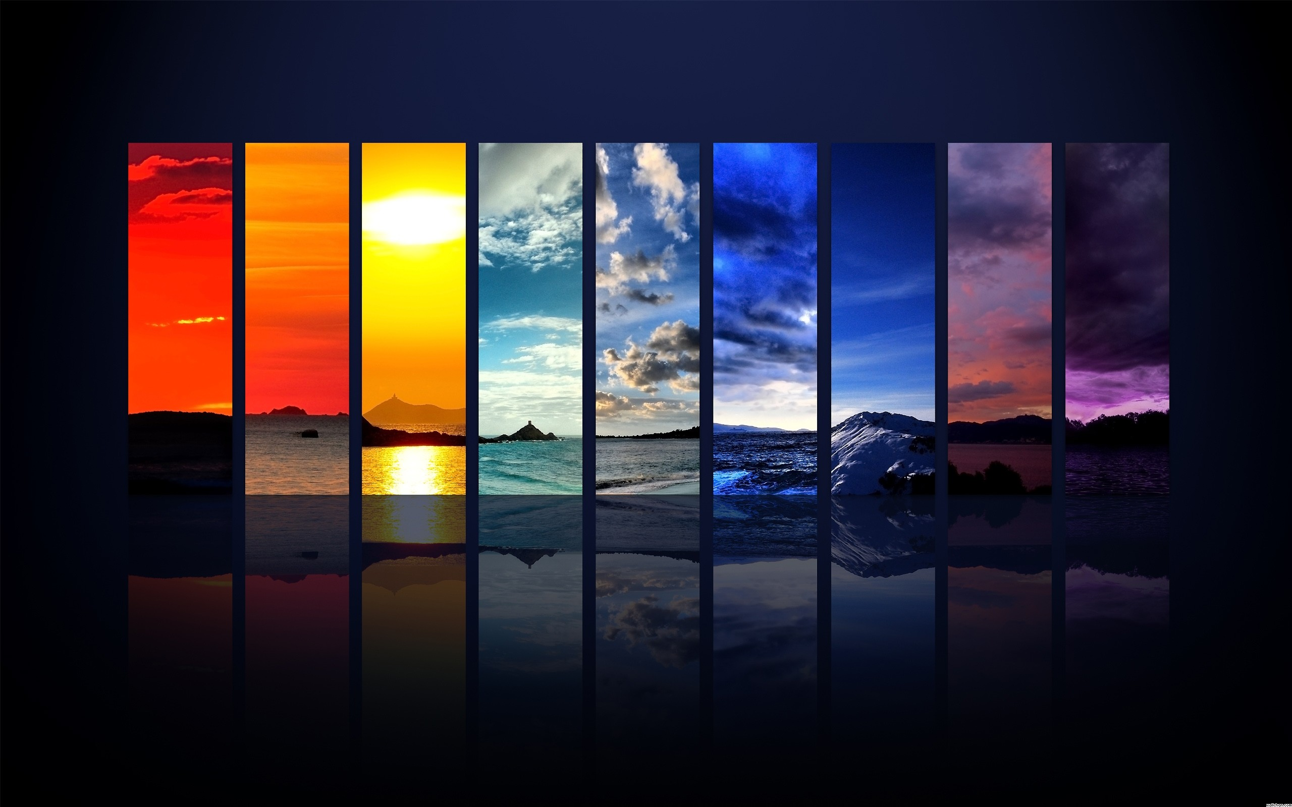 2560x1600 Wallpapers images Rainbow Colors Wallpaper HD wallpaper and background  photos