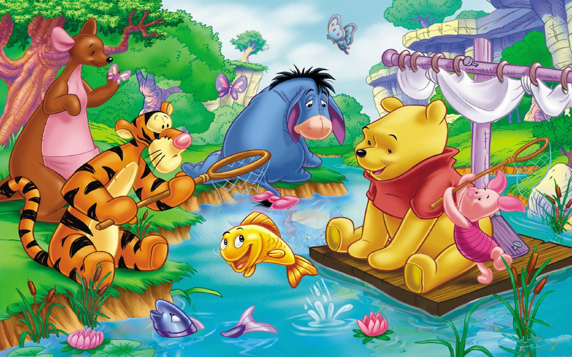 Wallpaper Winnie The Pooh: Winnie The Pooh Desktop Wallpaper (77+ Images
