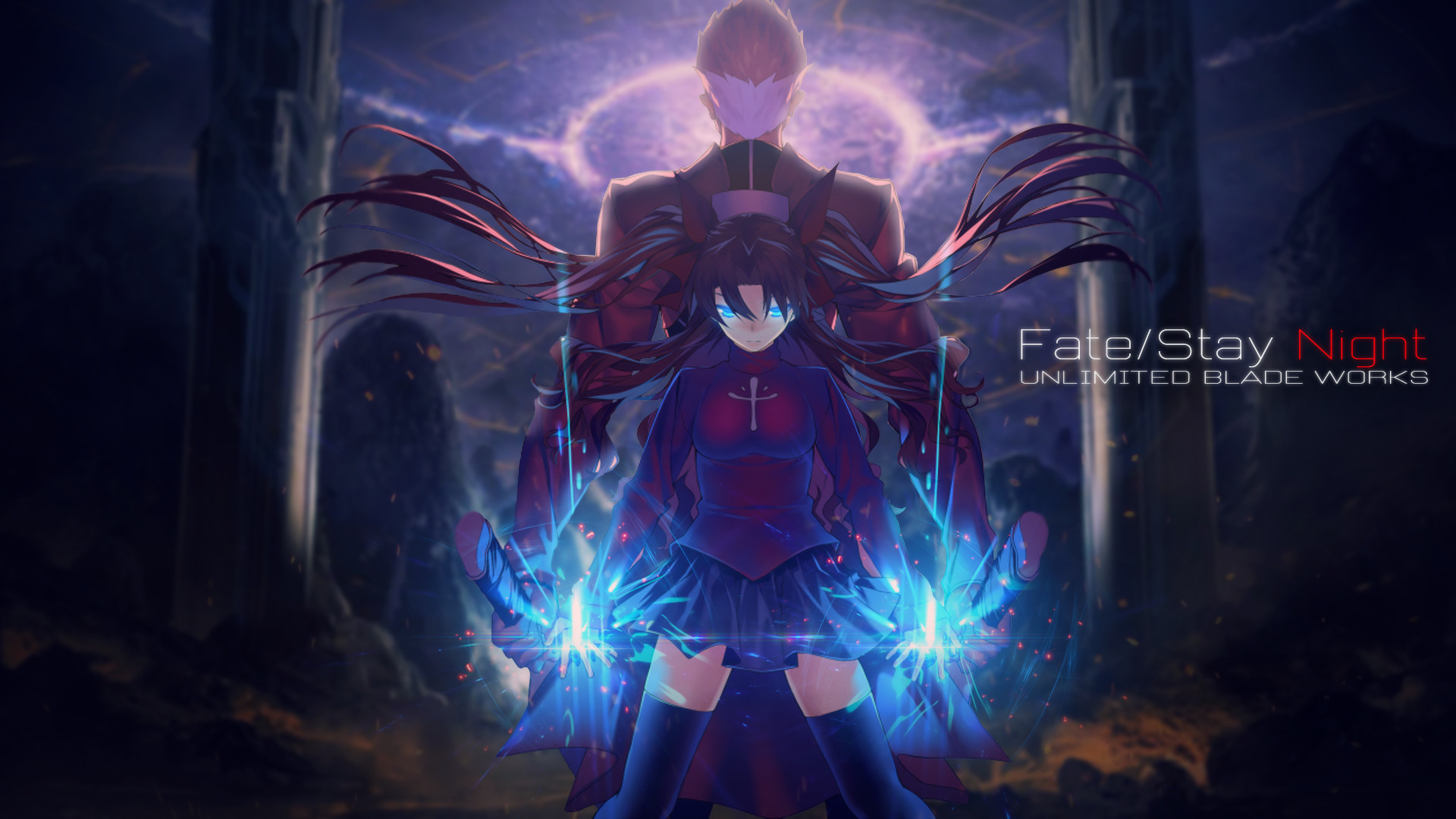 1920x1080 Fate Stay Night Archer Wallpapers Widescreen