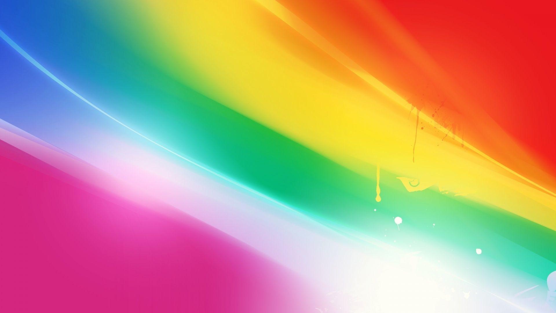 Rainbow Heart Garland - 5 Garland with 5 Rainbow hearts