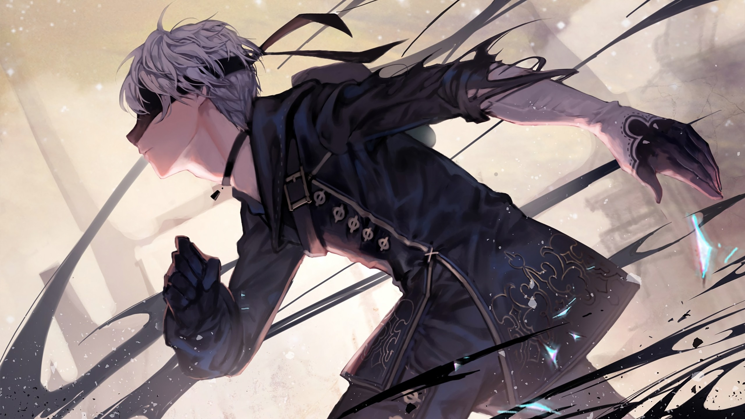 The Blind Blade || Keyth ID 791603-nier-replicant-wallpaper-2560x1440-for-iphone-6
