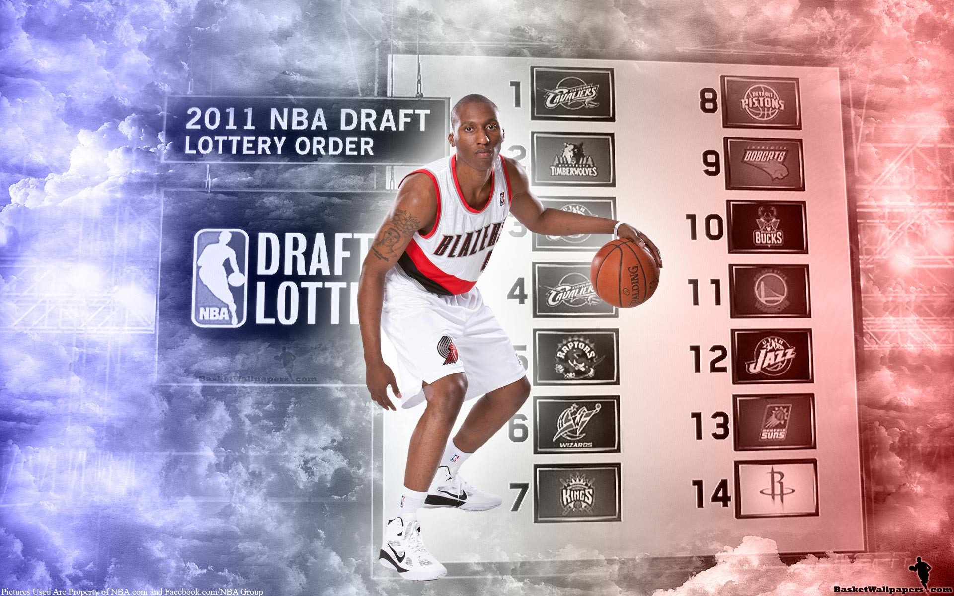 1920x1200 Nolan Smith Portland Trail Blazers Jersey Widescreen Wallpaper