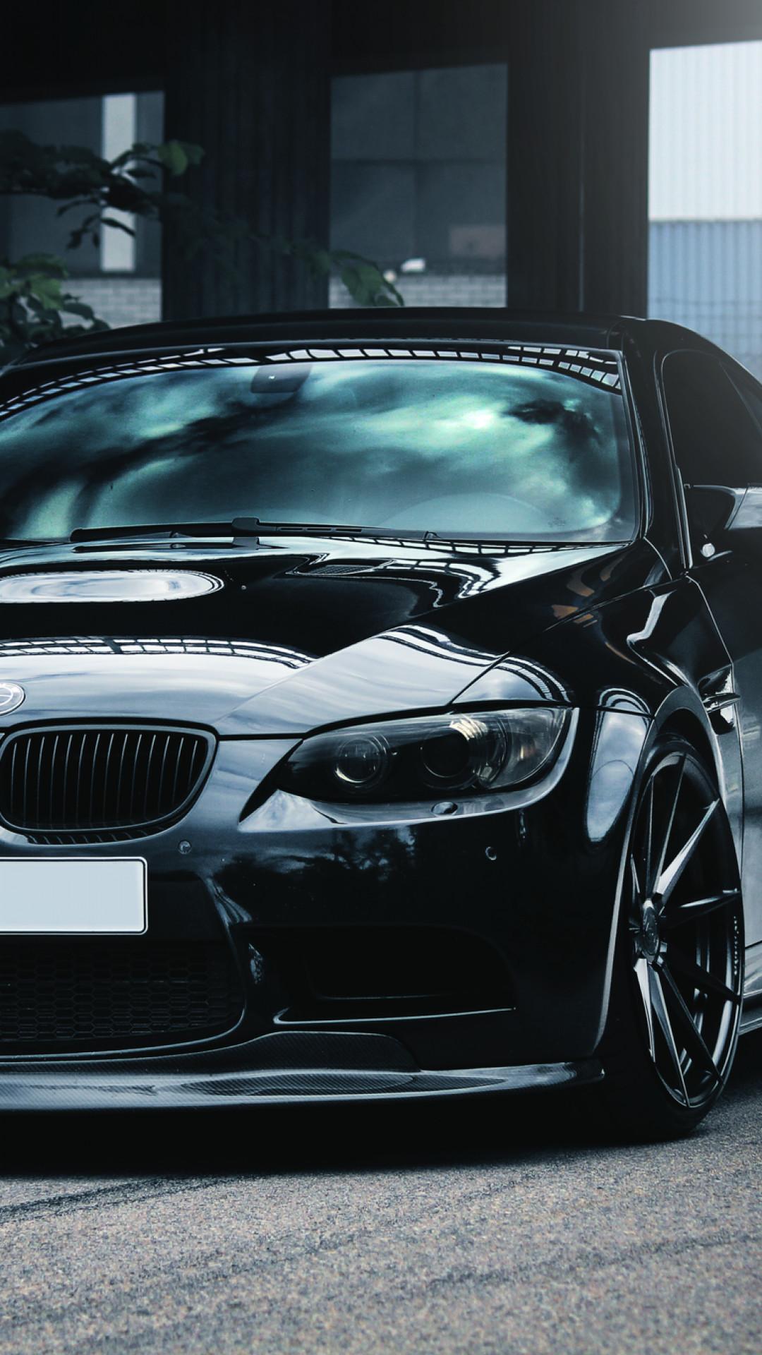 Car Iphone Black Bmw Wallpaper