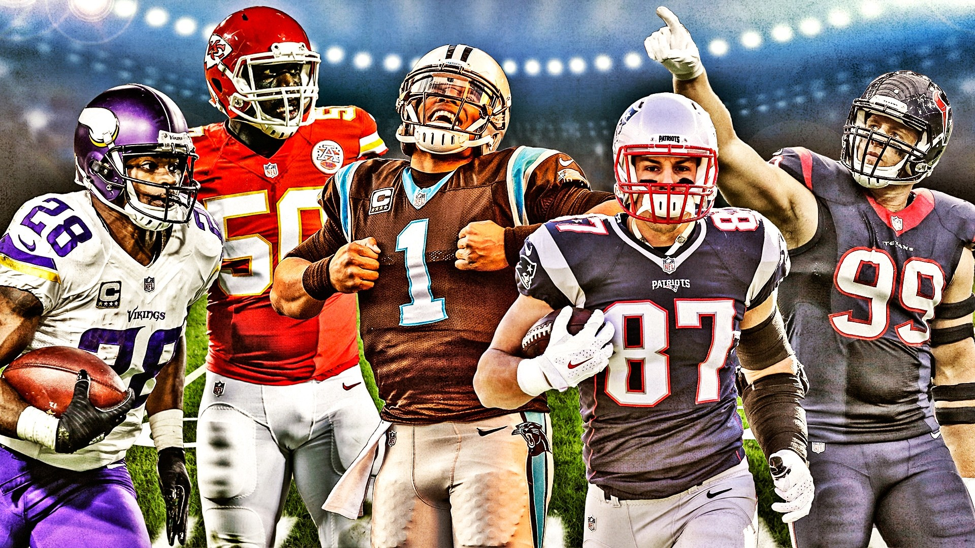 1920x1080 Sporting News' 2015 NFL All-Pro team: Coaches crown the season's best  players | Sporting News