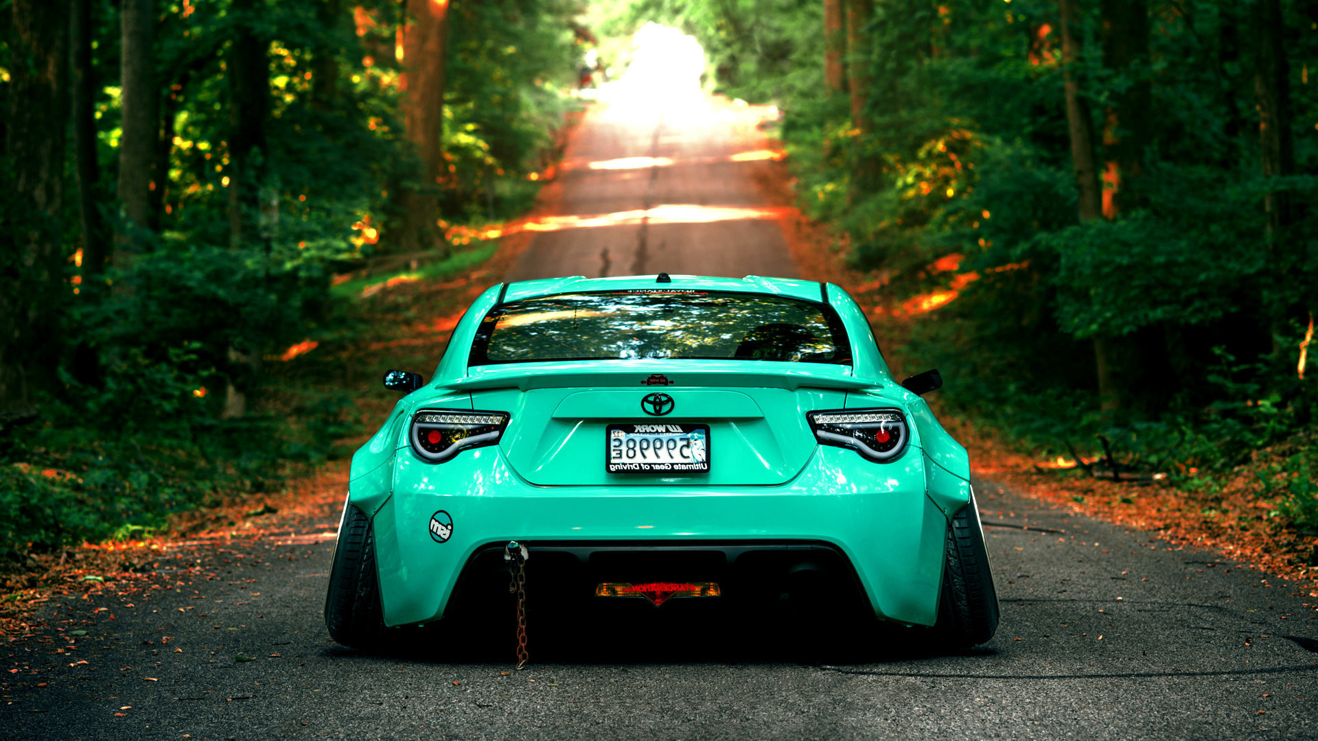 1920x1080 Scion FRS Rocket Bunny Wing Spoiler kit
