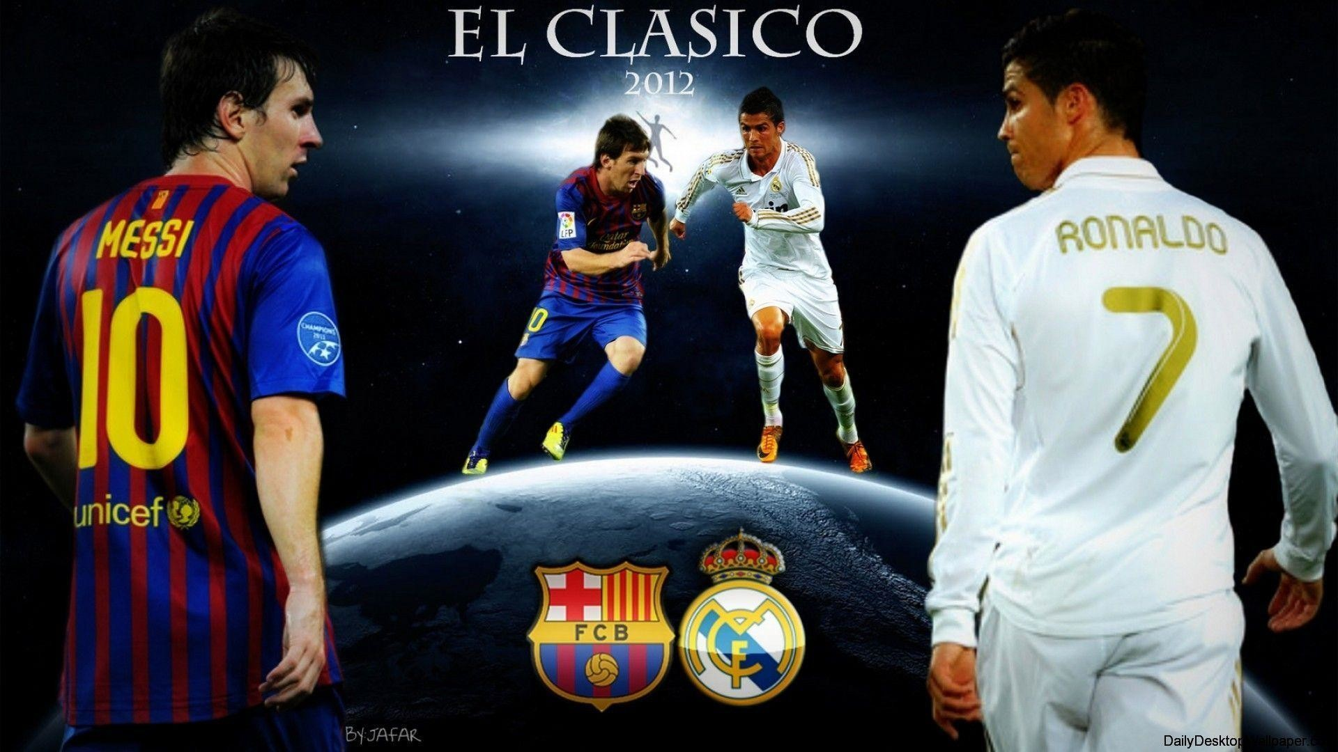 1920x1080 Messi And Ronaldo 2012 Wallpaper HD Free Wallpapers