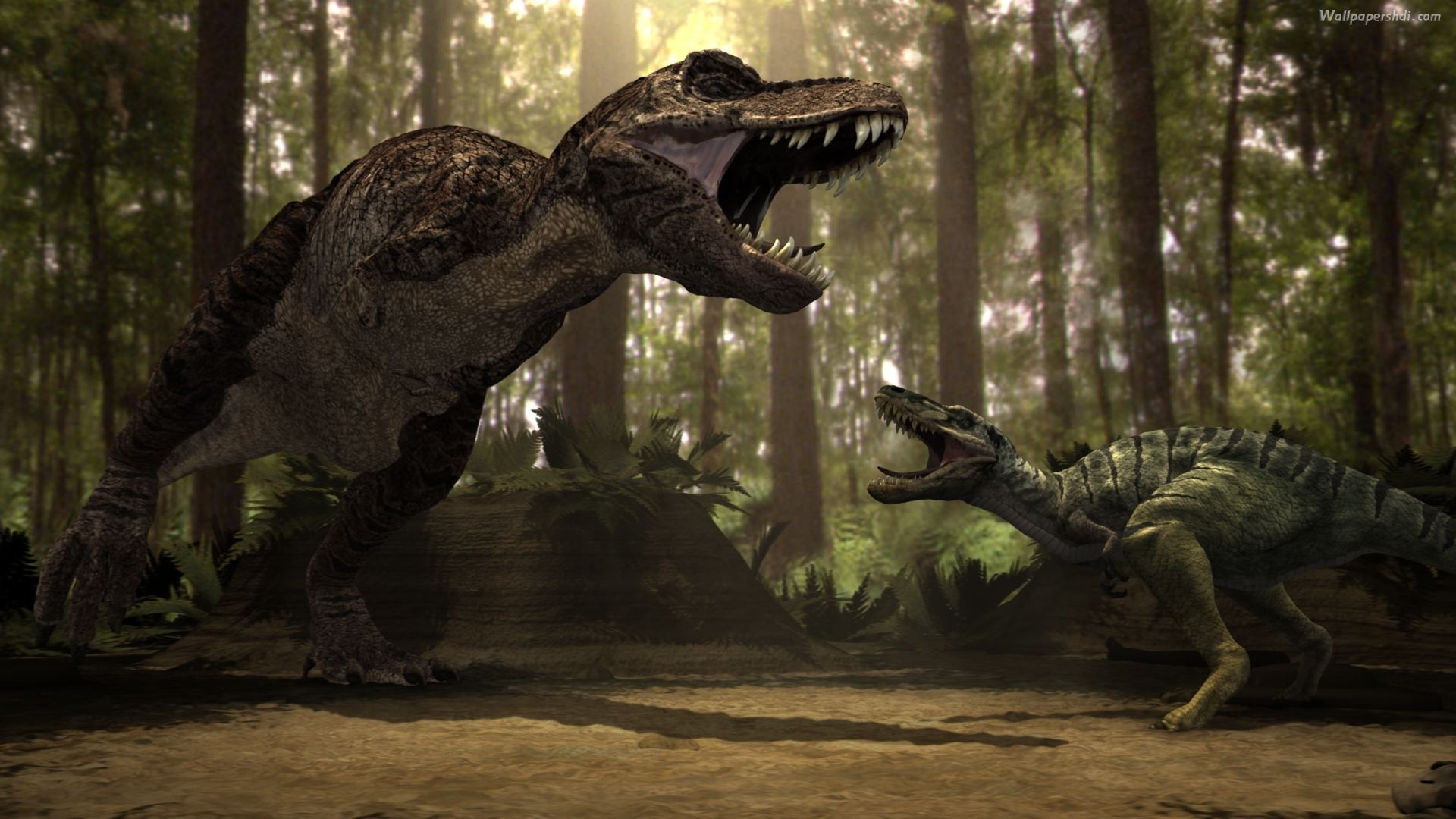 1920x1080 HD Wild Dinosaur T Rex HD 1080p Wallpaper Full Size .