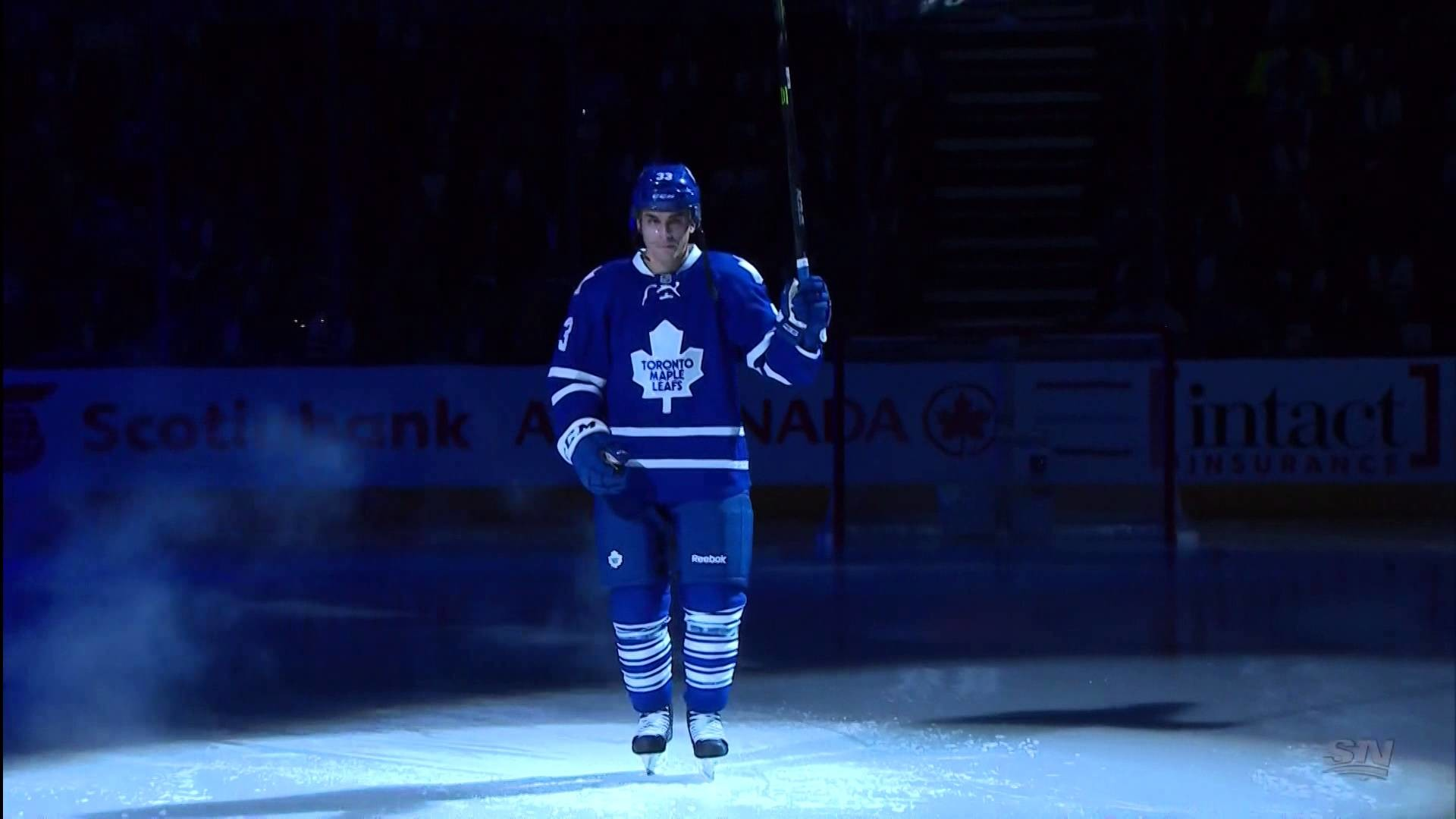 1920x1080 Toronto Maple Leafs 99th Season Opener - Player Introductions - Oct 7th  2015 (HD) - YouTube