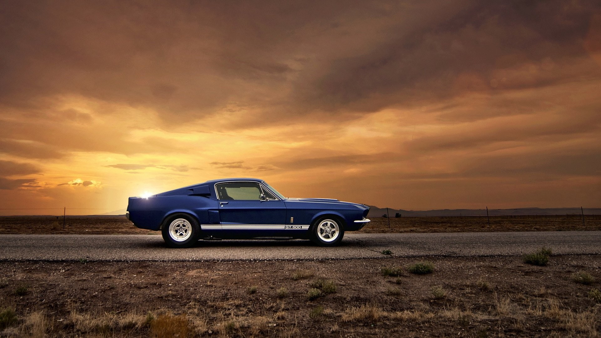 Old Ford Mustang Hd Wallpaper