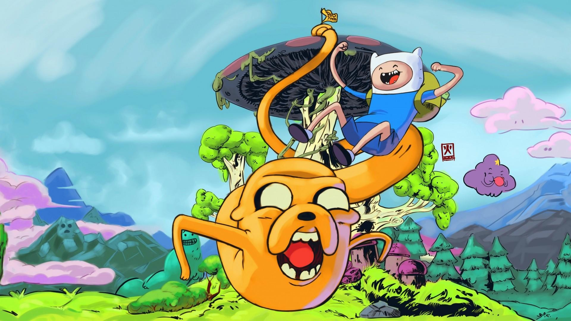 Adventure Time Wallpapers for Desktop (55+ images)