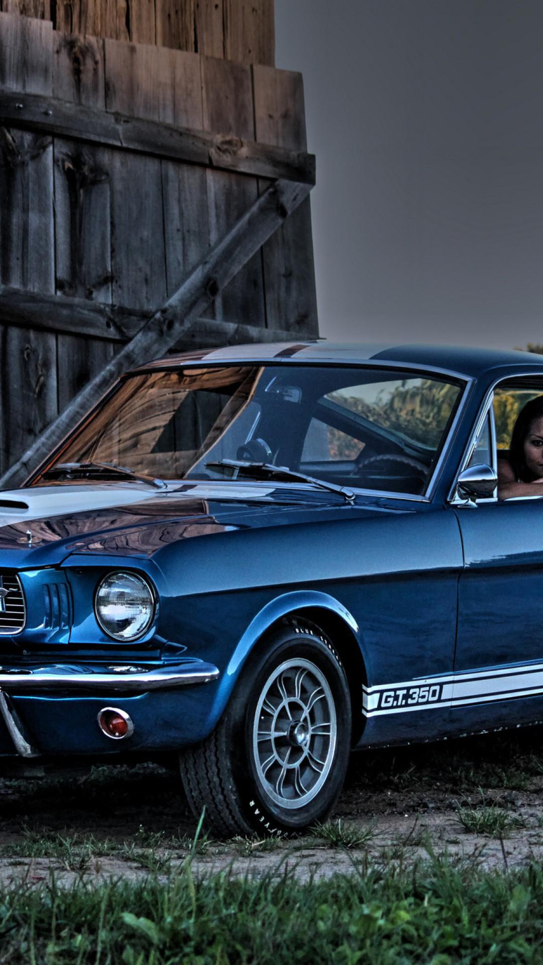 Classic Mustang Iphone Wallpaper