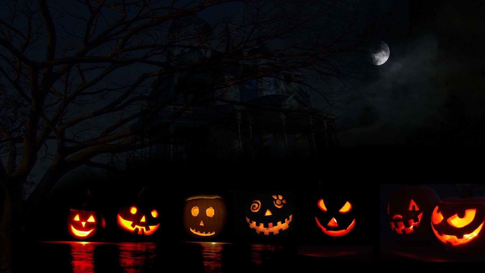 1920x1080 Halloween Pumpkin Carving Desktop Background | Desktop Backgrounds HQ