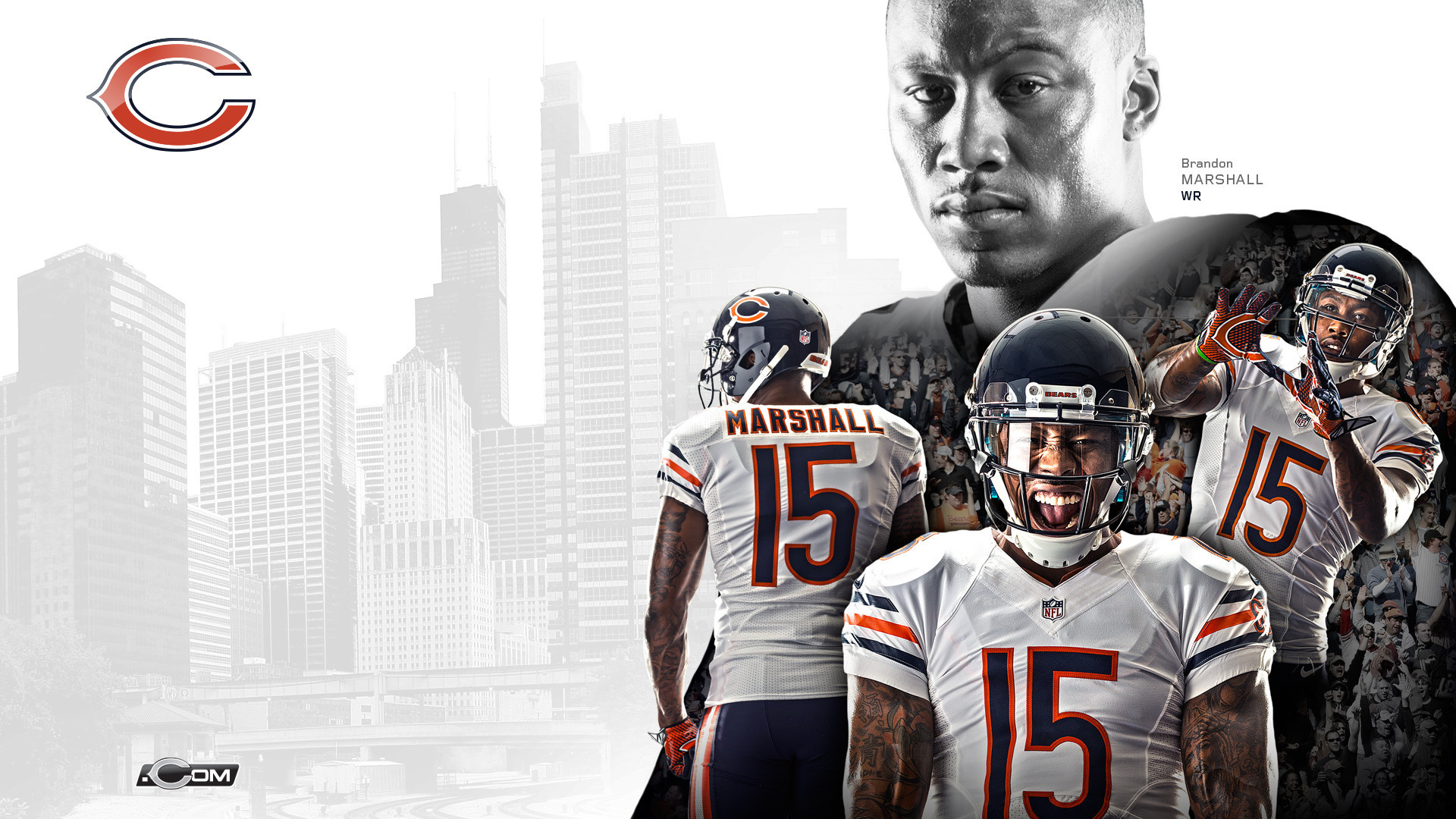 1920x1080 Chicago Bears HD Wallpapers New Tab Theme