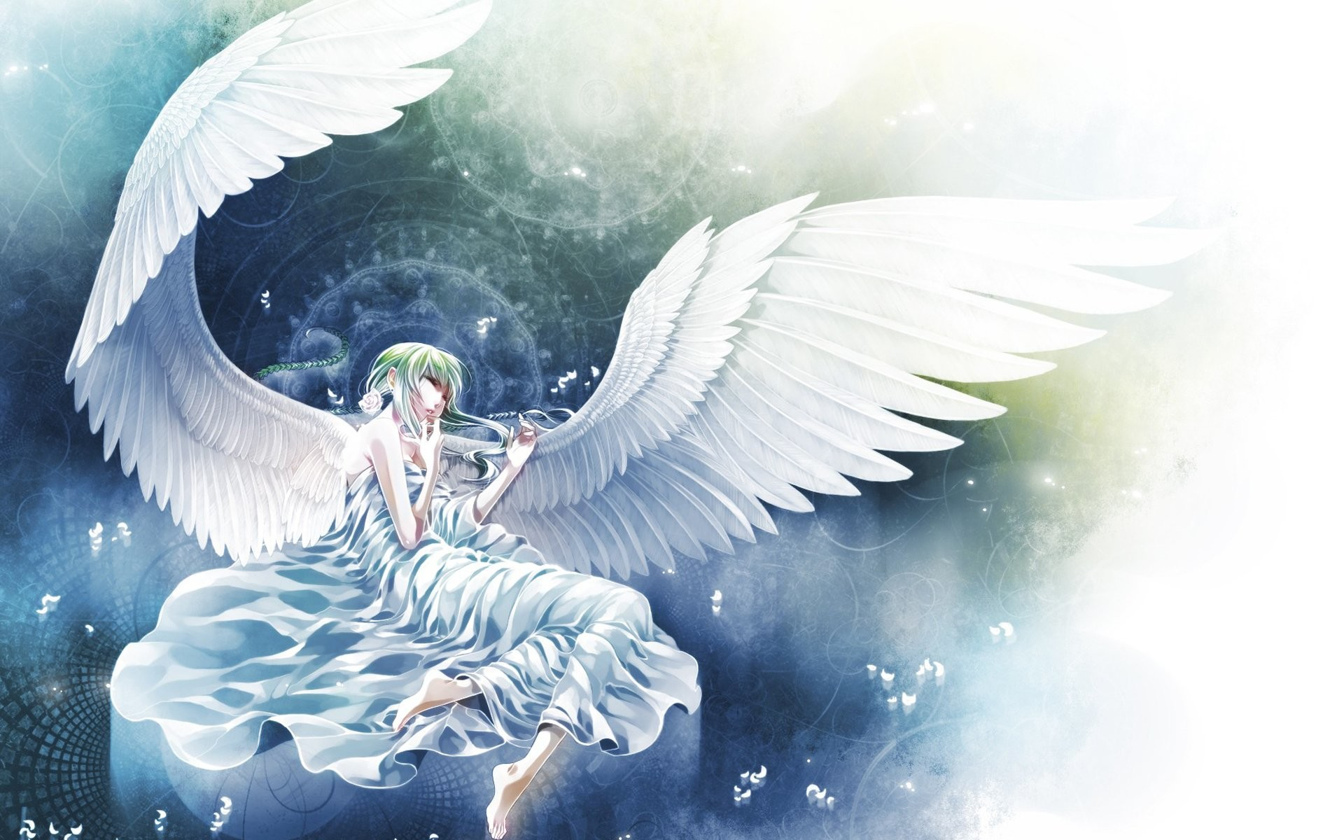 X Anime Angel Wallpaper