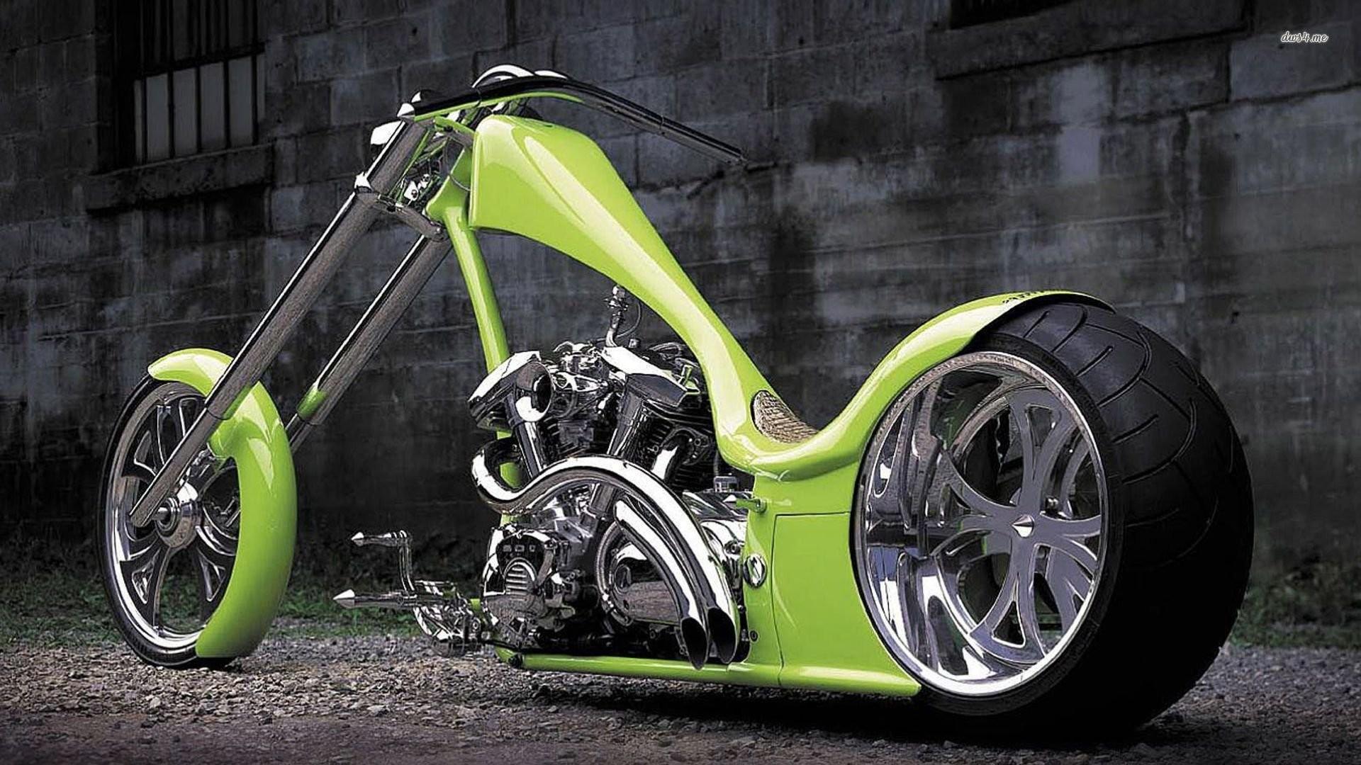 Motorcycle Custom: Custom Chopper Wallpaper (64+ Images
