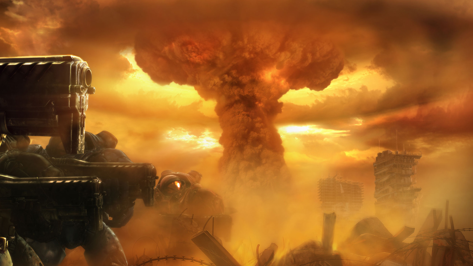 1920x1080 Mushroom Cloud Wallpapers 43