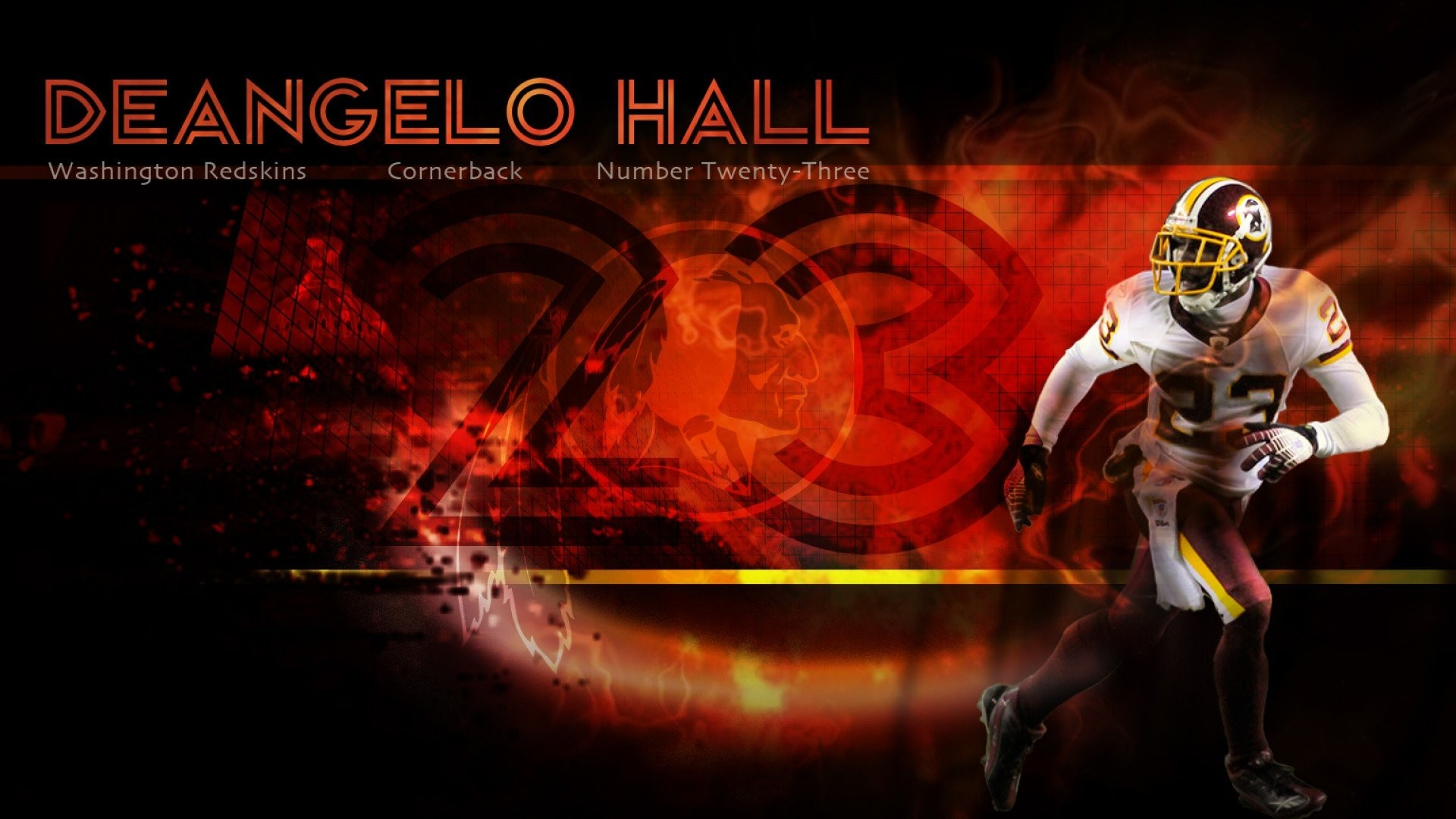 1920x1080 Deangelo Hall Redskins Wallpaper » WallDevil - Best free HD .