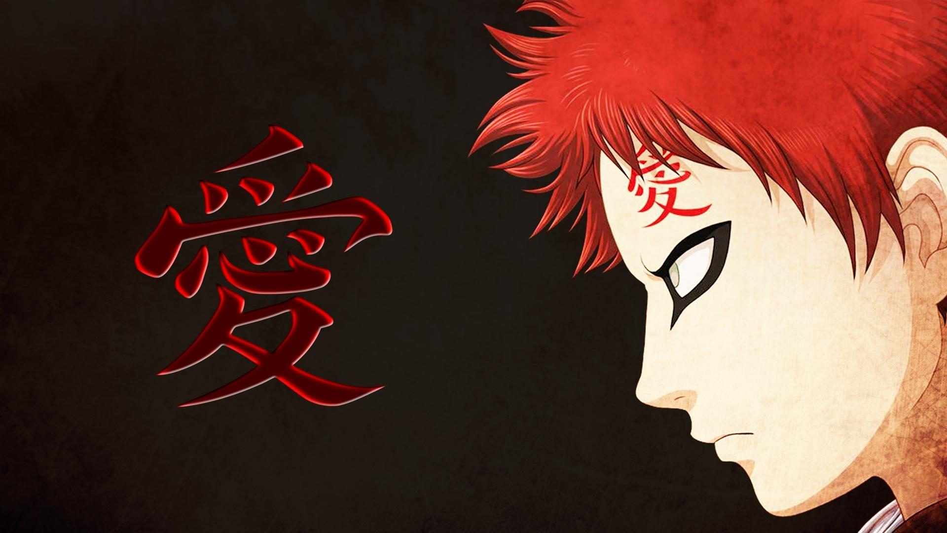 1920x1080 Naruto Gaara Wallpaper