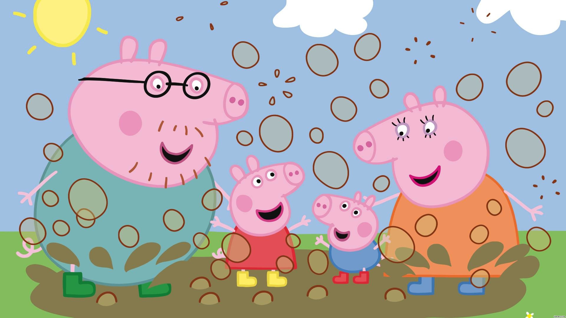 Peppa Pig Room Decor New Vgo Ltd Peppa Pig Wallpaper Mural Childrens  Bedroom Design Wm297 Xl