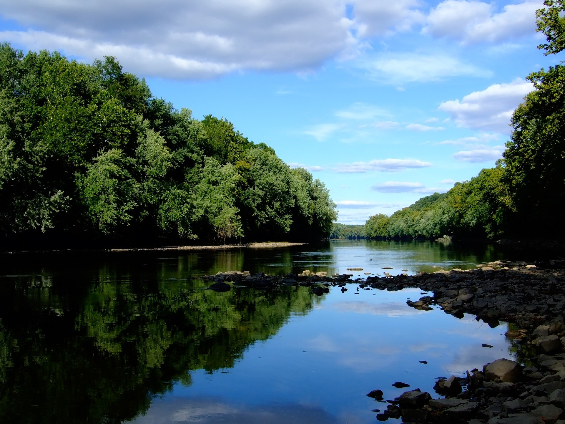 1920x1440 Schuylkill River Wallpaper Rivers Nature