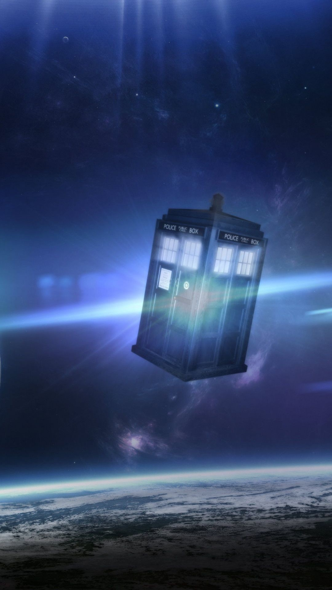 1080x1920 Tardis Live Wallpaper
