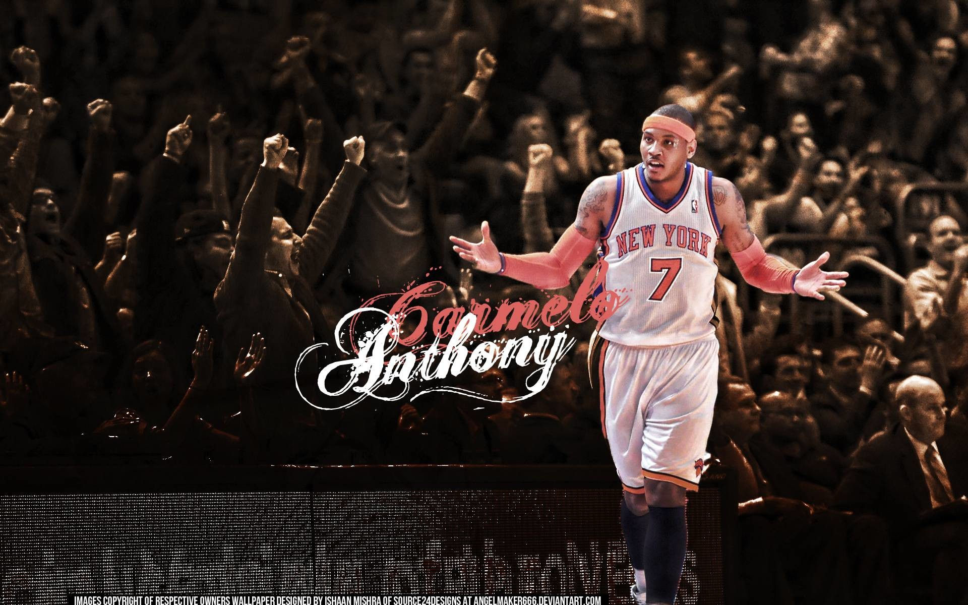 1920x1200 Carmelo Anthony Wallpapers | Crunchize