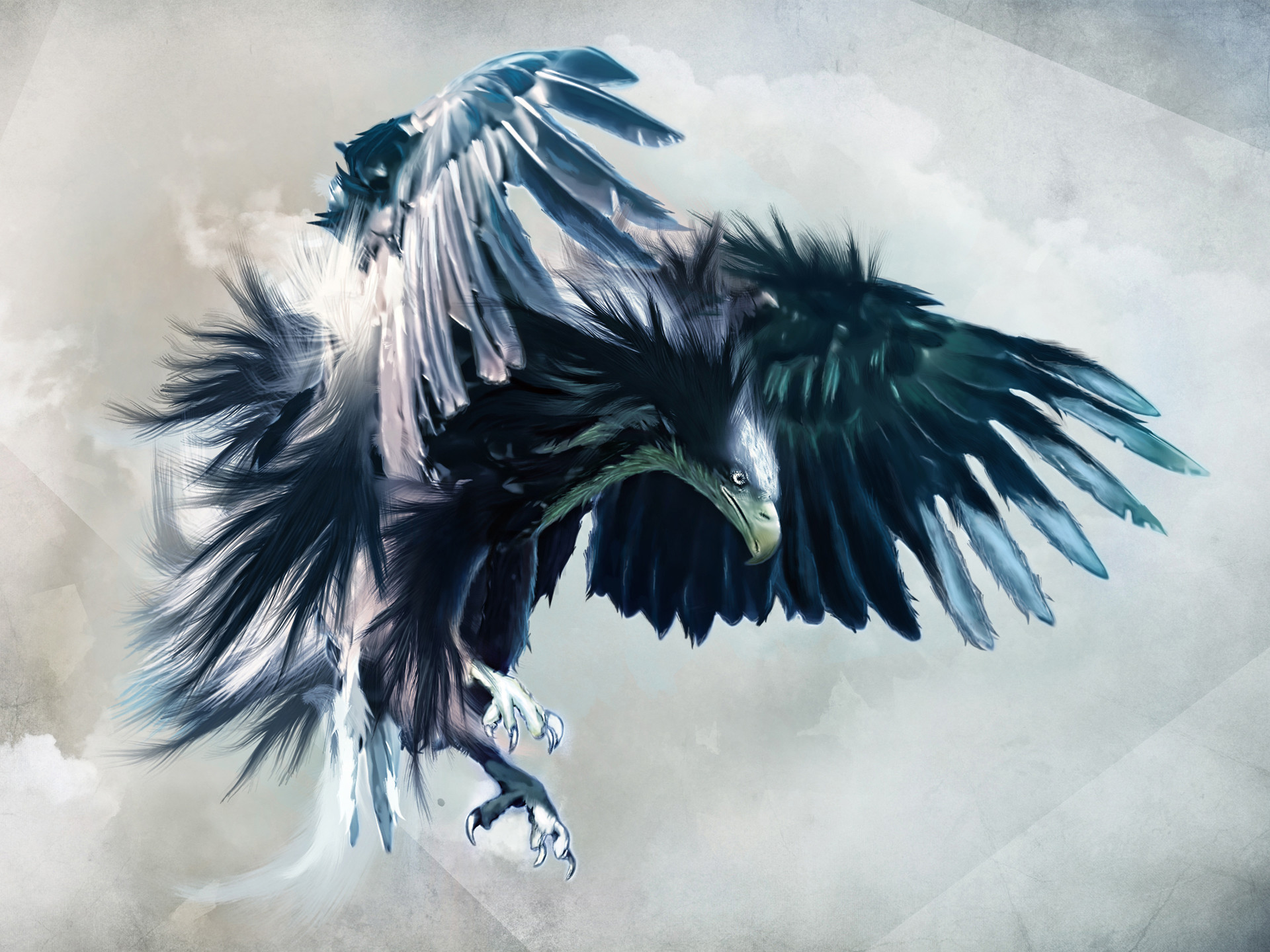 1920x1440 Fierce Eagle HD Wallpaper on MobDecor