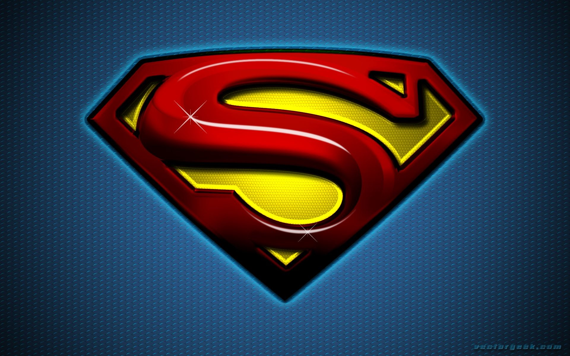 1920x1200 14102) Superman Logo Cool Backgrounds Wallpaper Attachment .