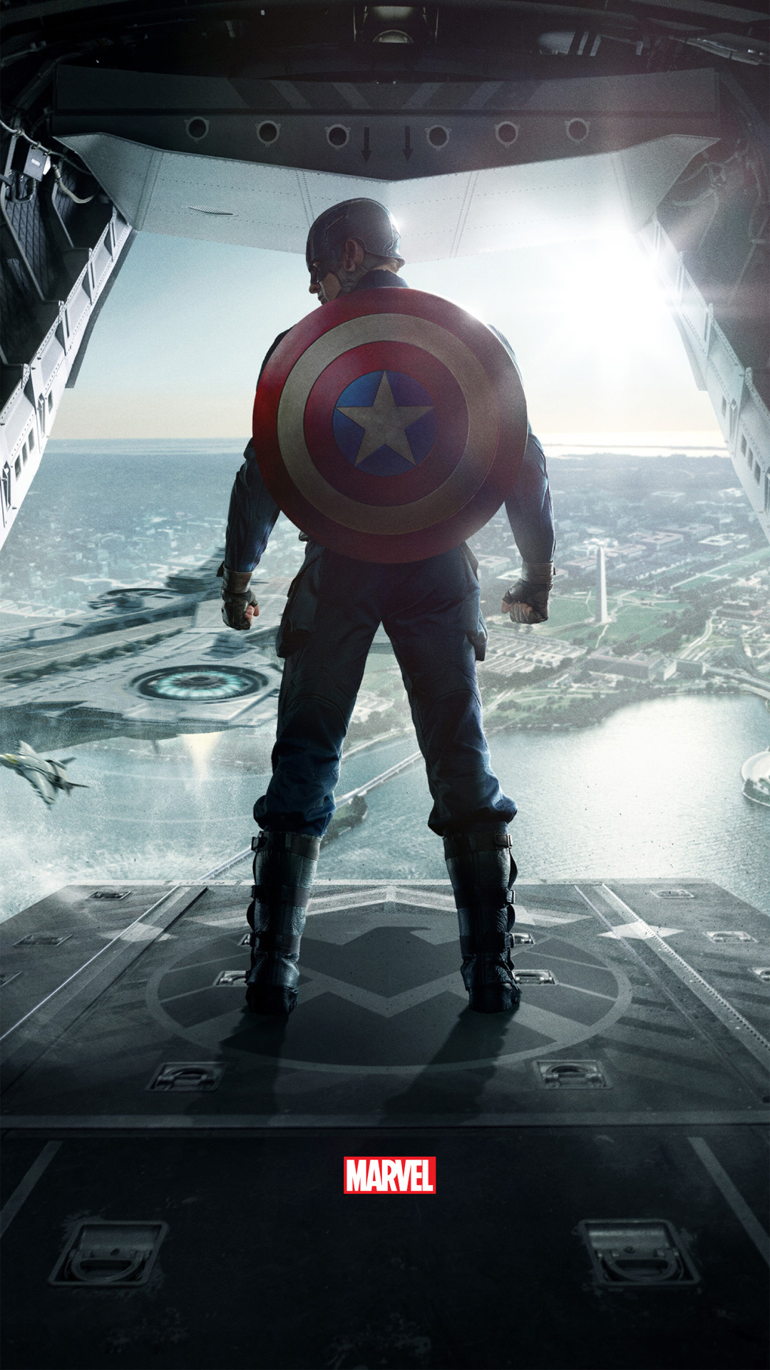 1080x1920 Captain America The Winter Soldier htc one wallpaper