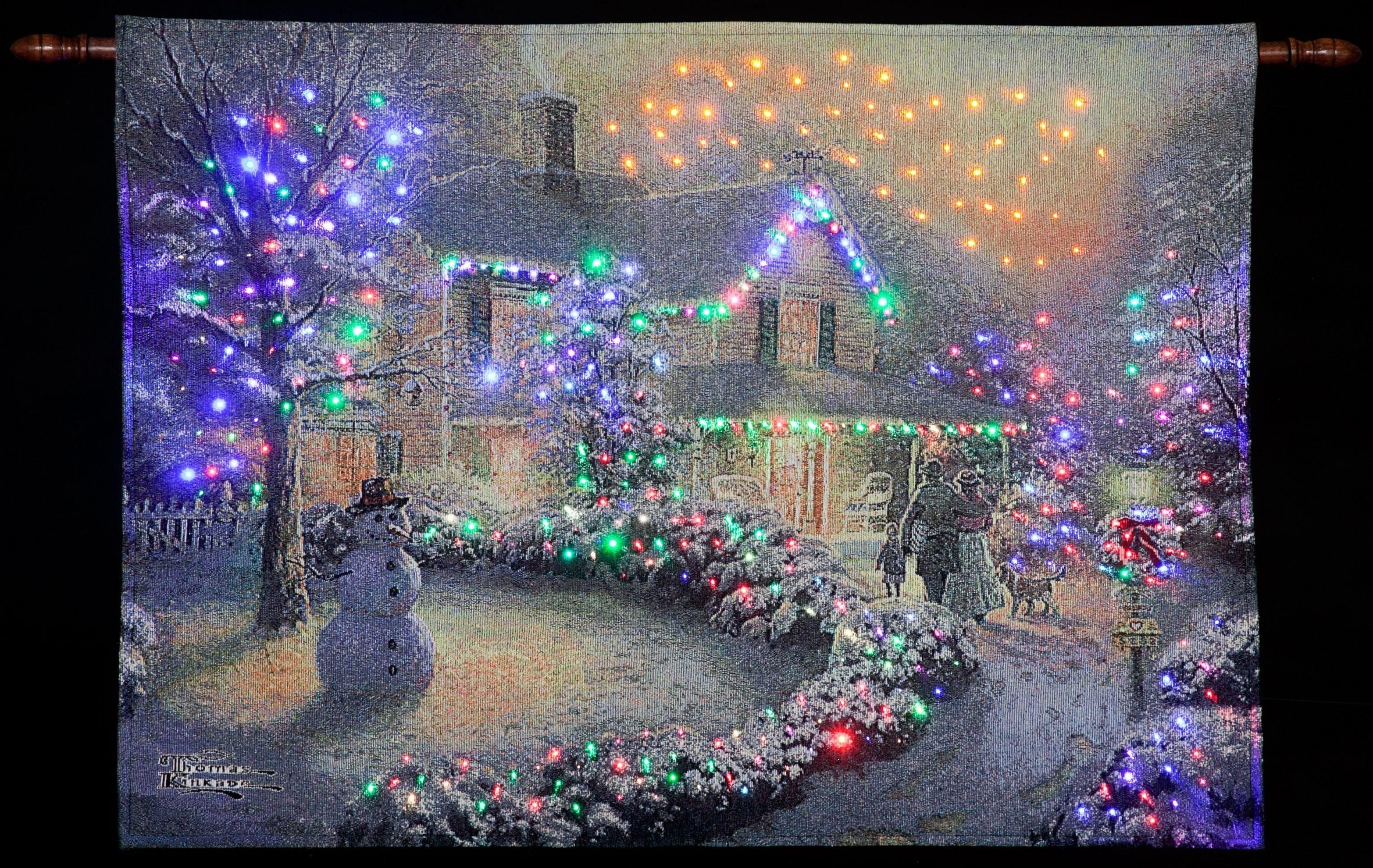 Thomas Kinkade Christmas Backgrounds (56+ images)