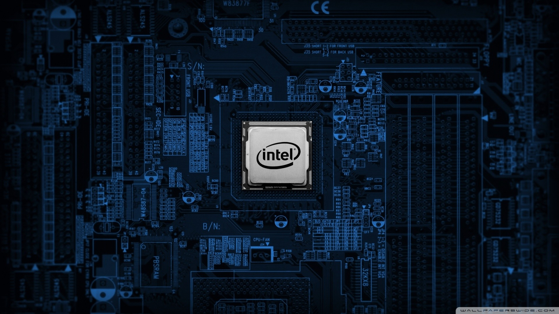 Engineering And Technology Ultra Hd Wallpapers: Intel Wallpaper 1920x1080 HD (77+ Images
