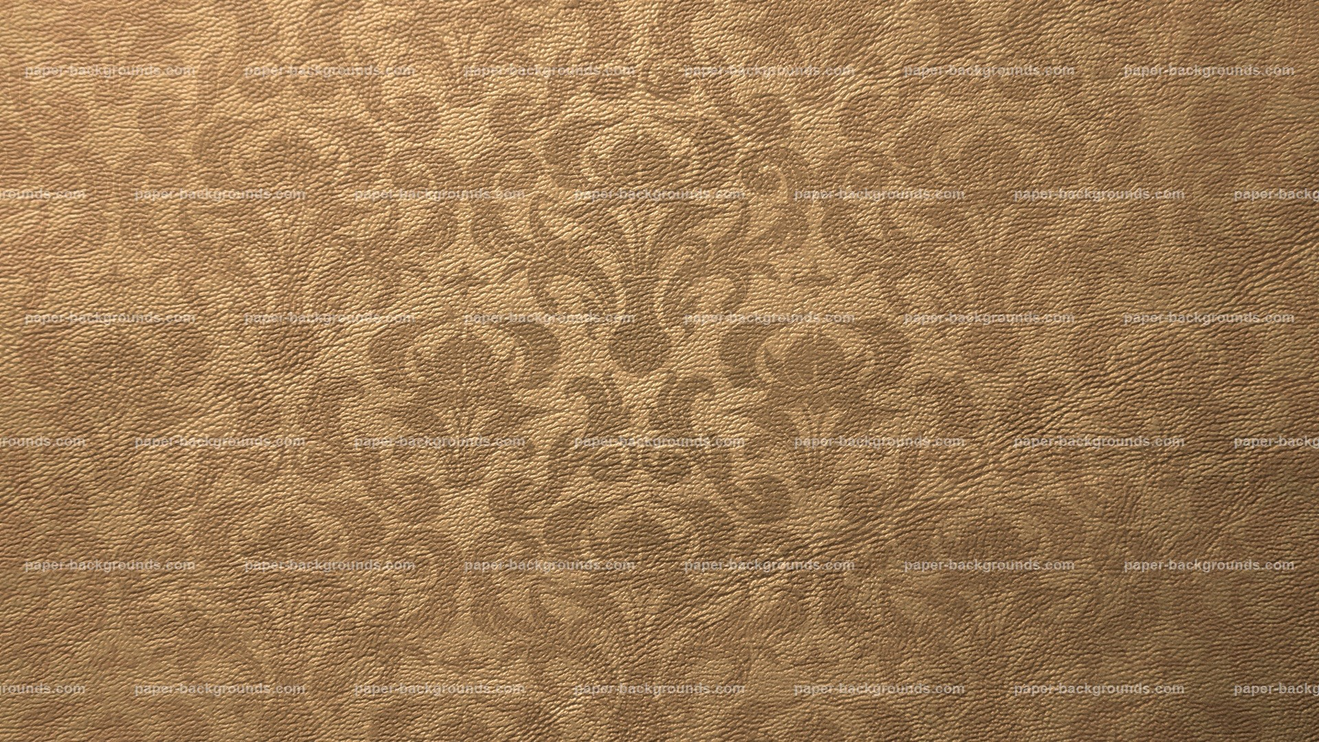 1920x1080 Light Brown Paper Background Leather Texture