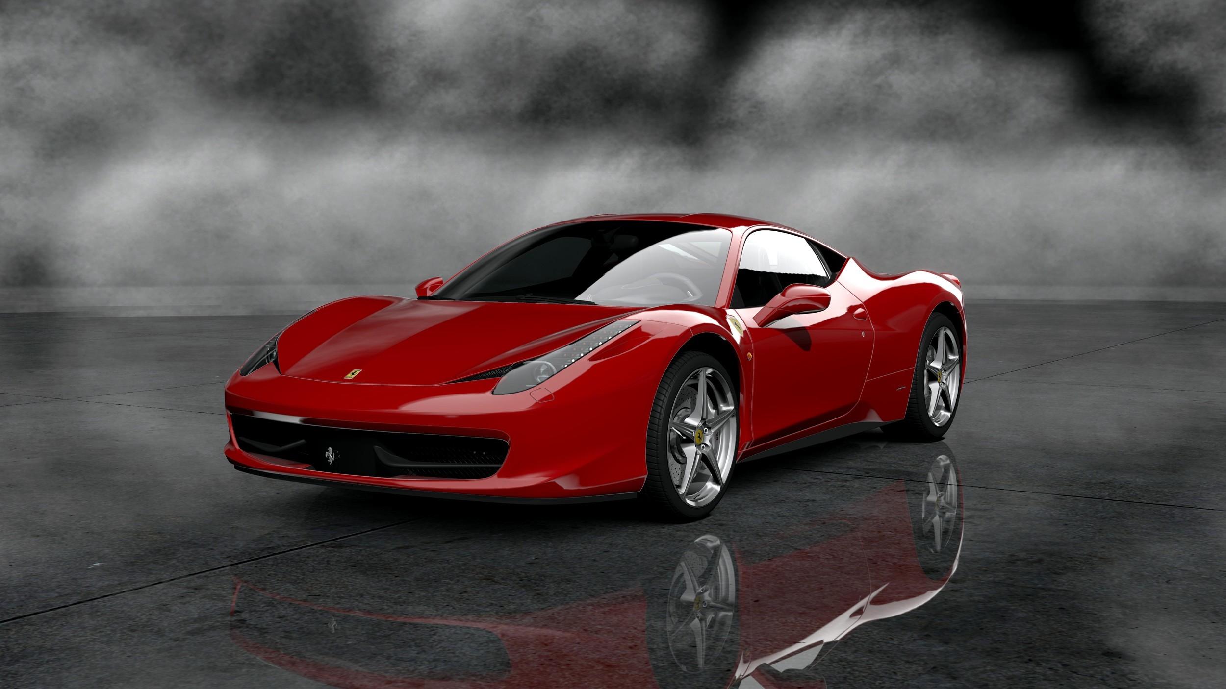 Download Ferrari 458 Drifting Images Wallpaper  PNG