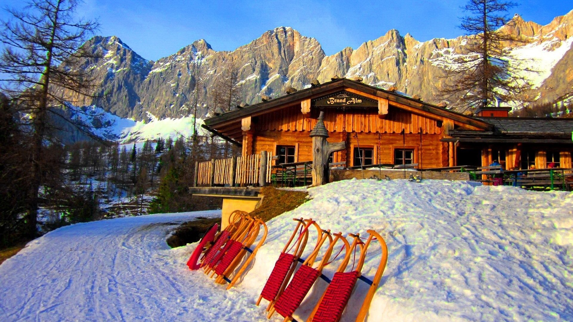 winter cabin wallpaper for desktop 57 images