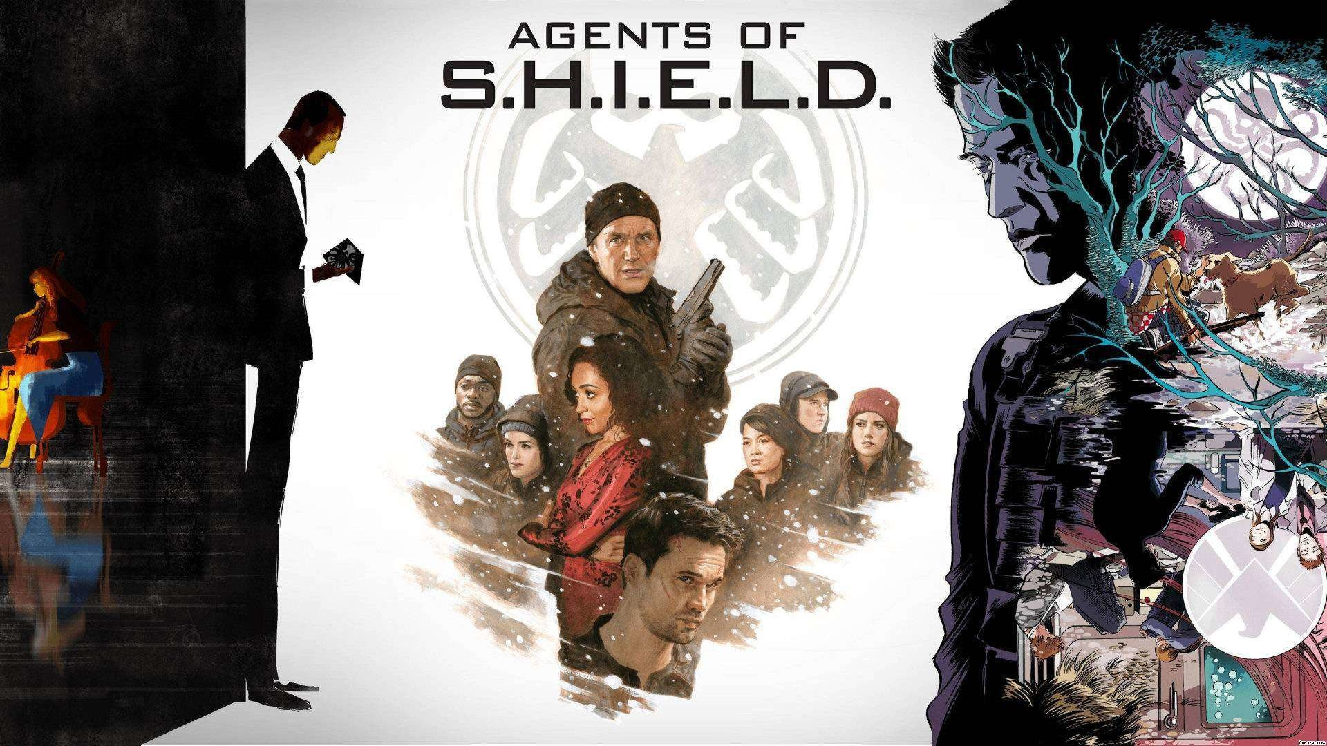 1920x1080 Agents Of Shield WallPaper