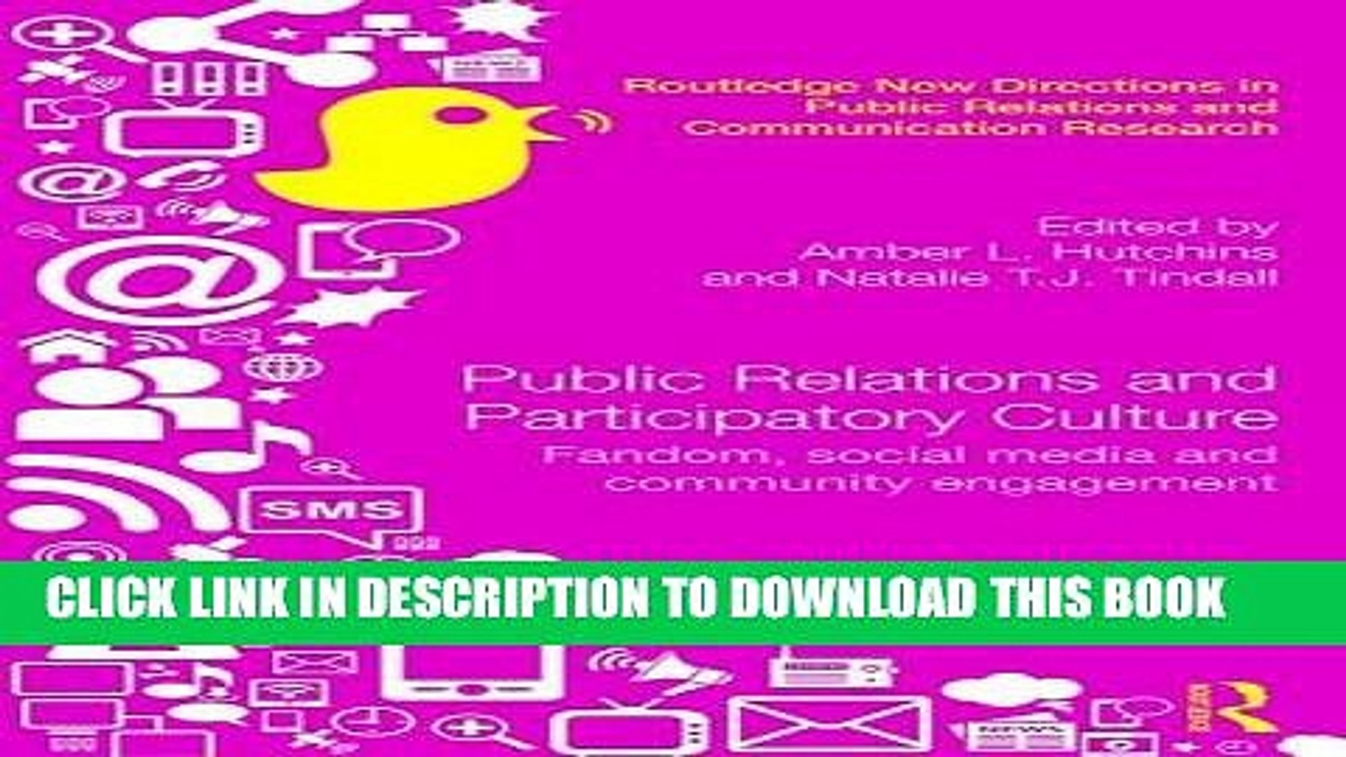 1920x1080 [New] Public Relations and Participatory Culture: Fandom, Social Media and  Community Engagement - video dailymotion