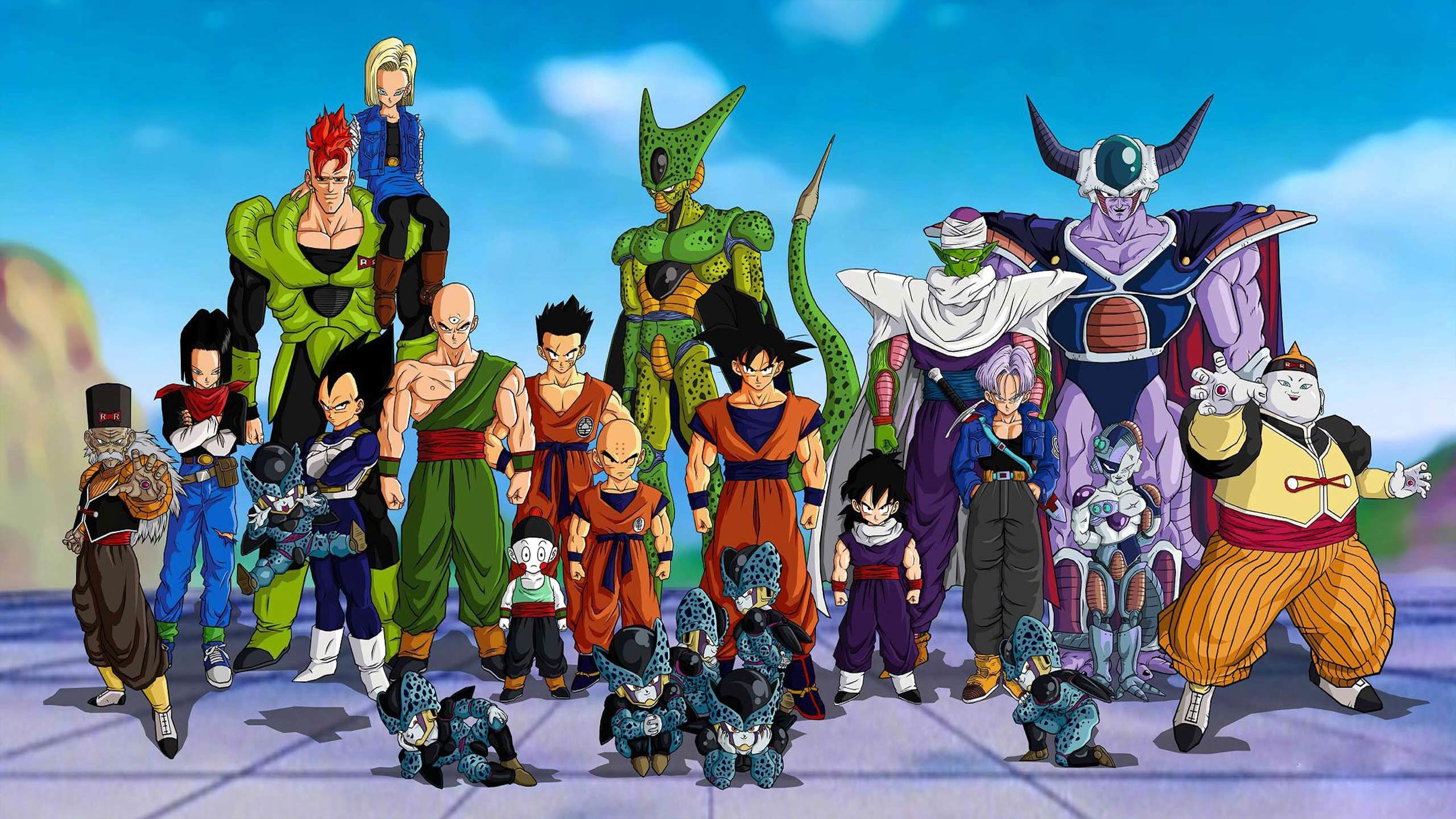 2560x1440 Dragon Ball Z DBZ HD Wallpapers, computer desktop wallpapers, pictures,  images