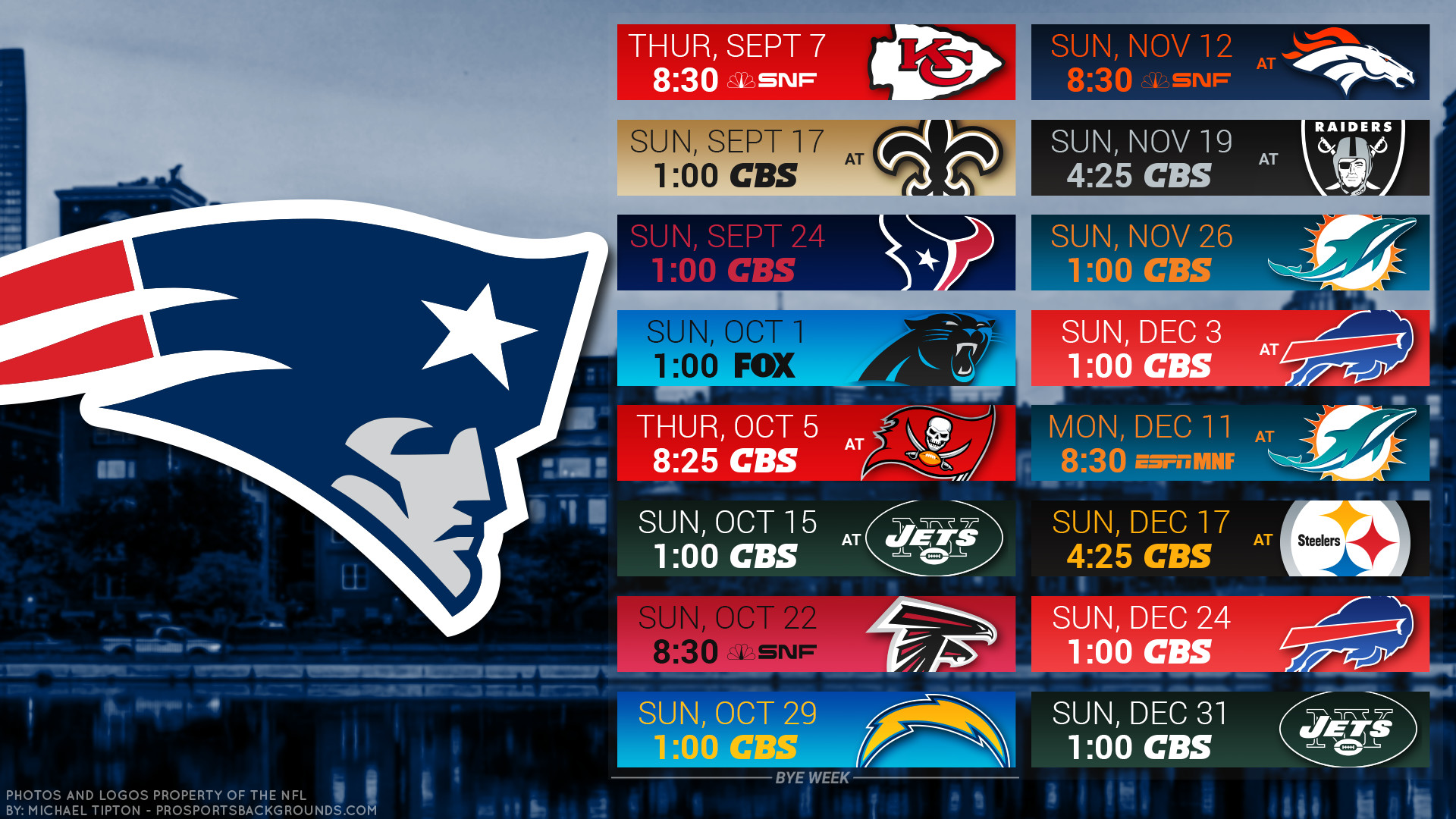1920x1080 New England Patriots 2017 schedule city football logo wallpaper free pc  desktop computer ...